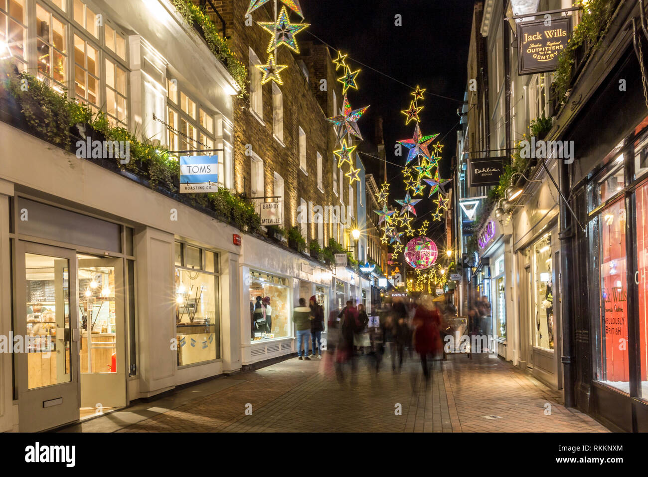 Christmas in London - Stock Image