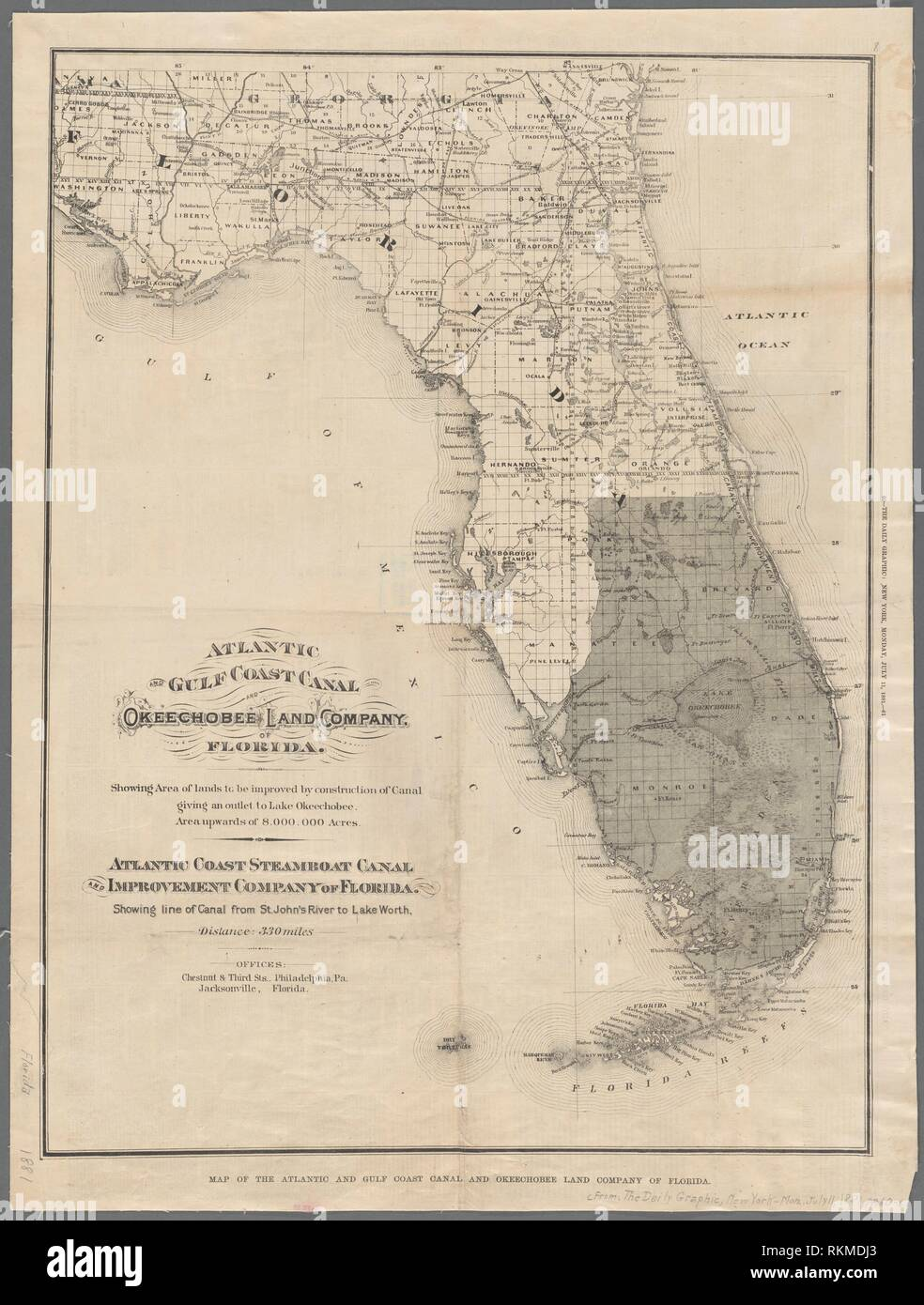 Map Of The Gulf Coast Florida on