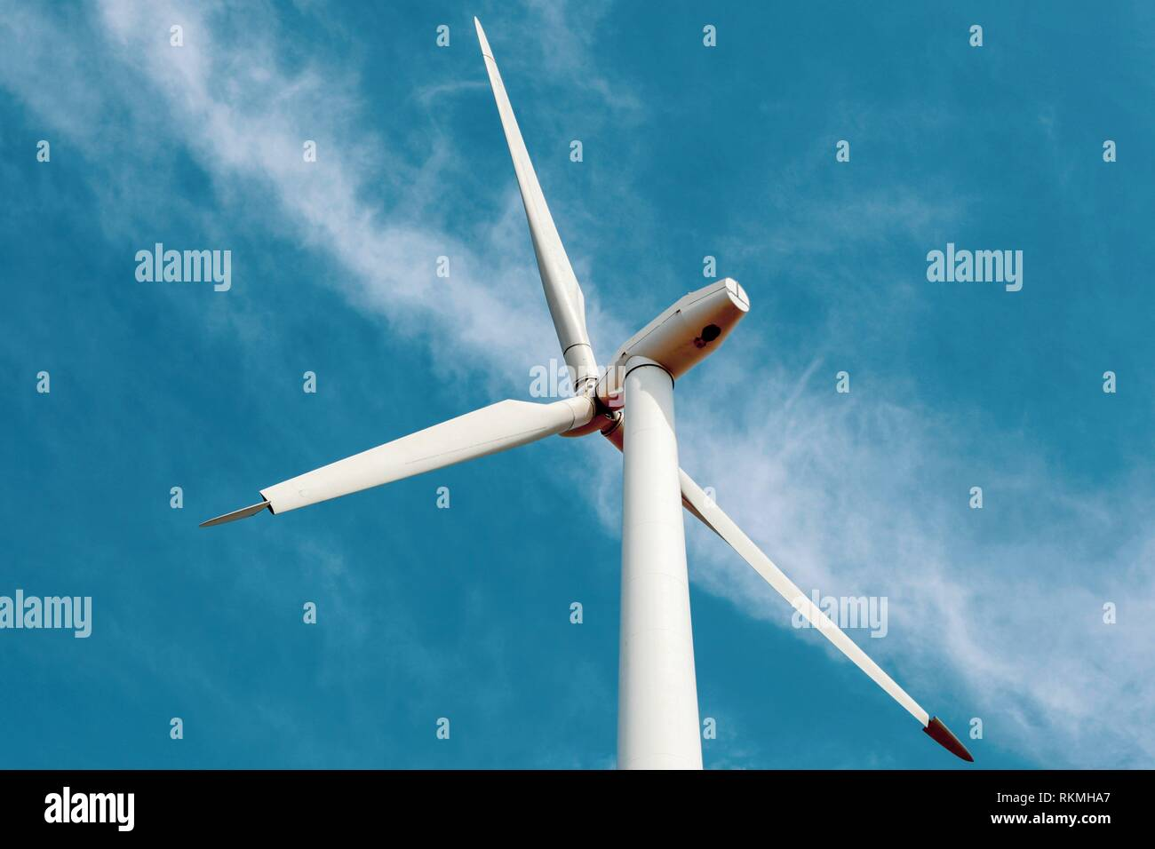 Pure renewable energy from nature. - Stock Image