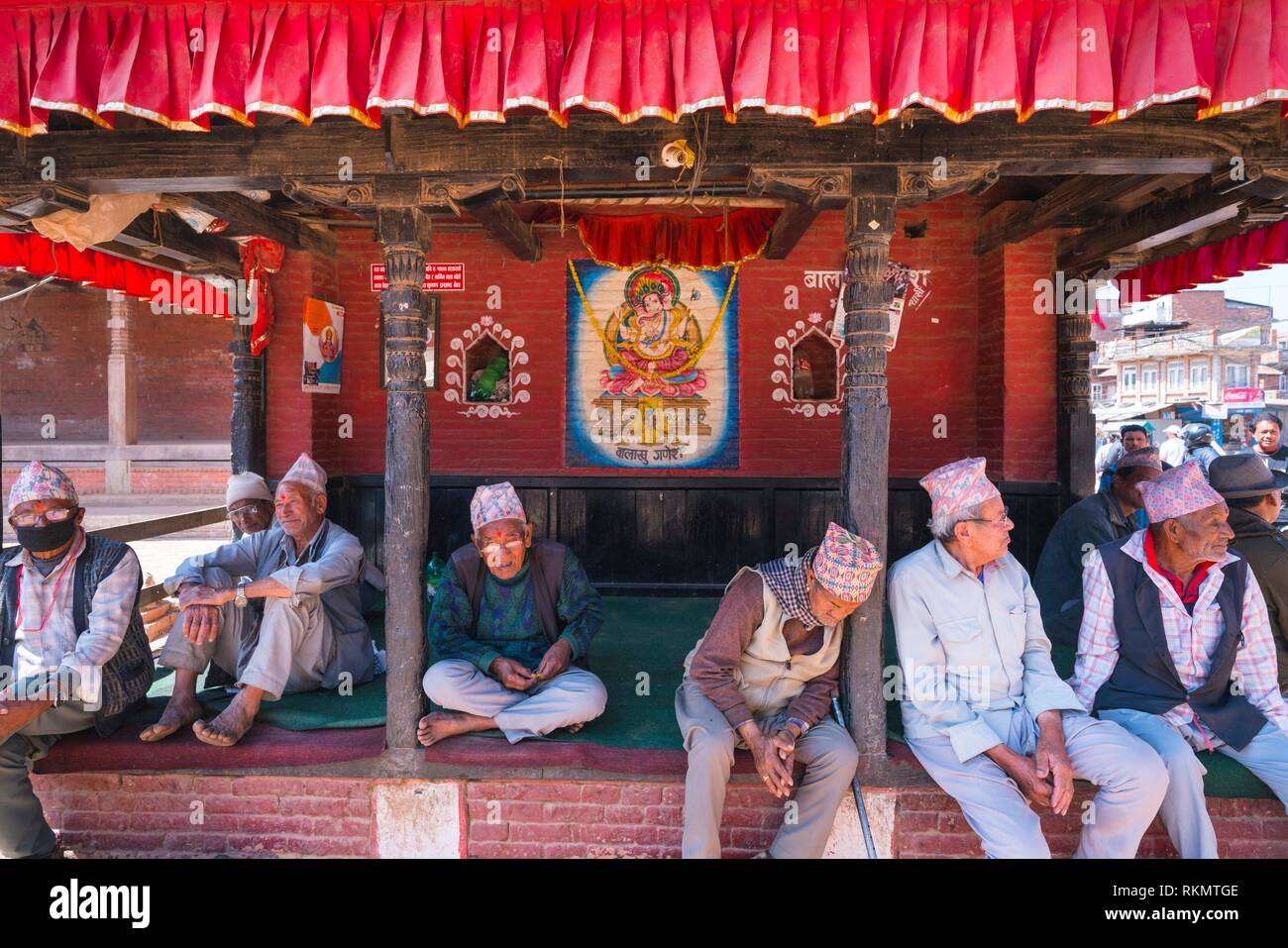 Pashupatinath Temple, Bagmati River, Kathmandu Valley, Nepal, Asia, Unesco World Heritage Site. - Stock Image
