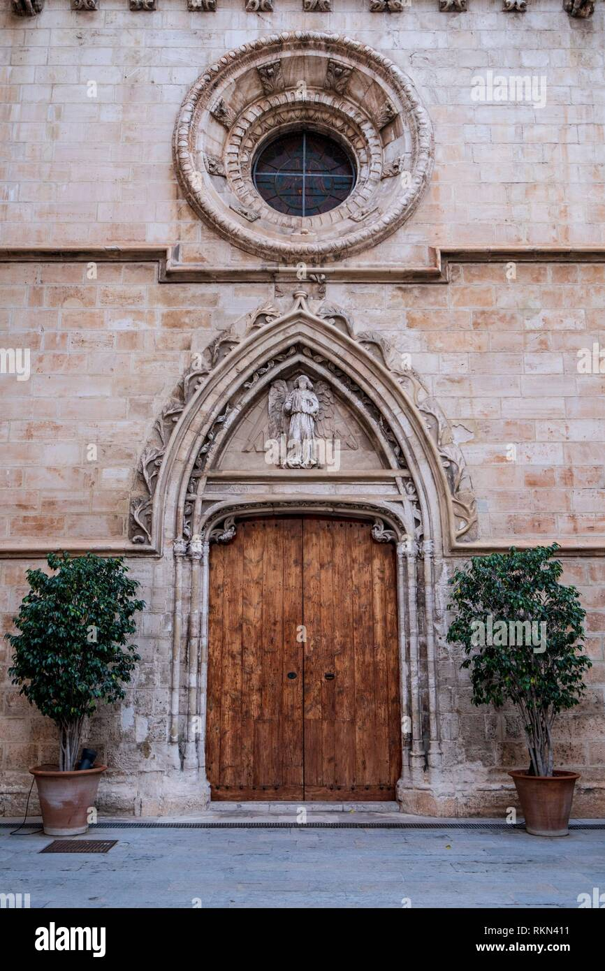 Lonja de Palma de Mallorca , Sa Llotja, S. XIV, Mallorca, balearic islands, Spain. Stock Photo