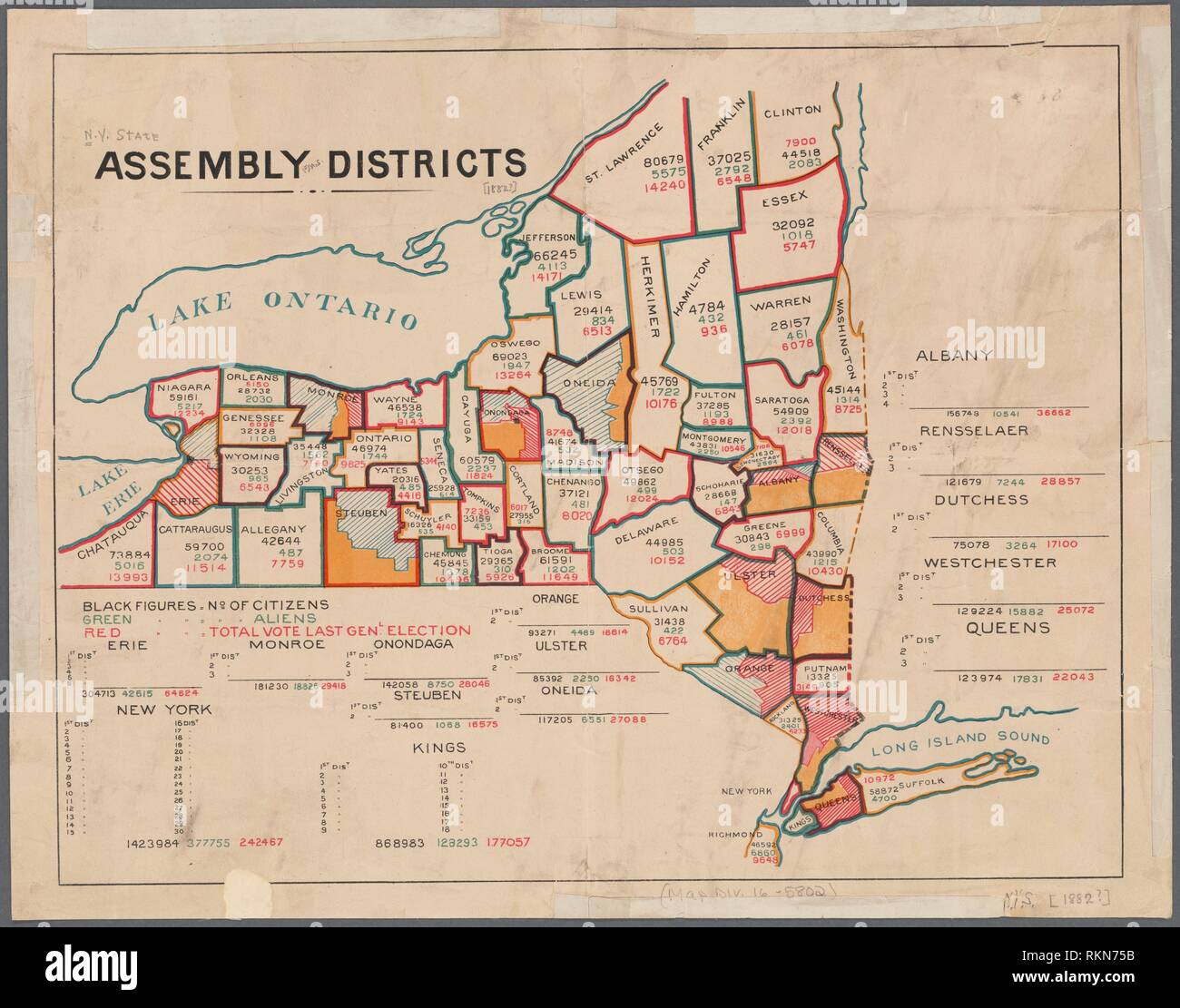 embly districts Additional title: N.Y. State embly districts ... on