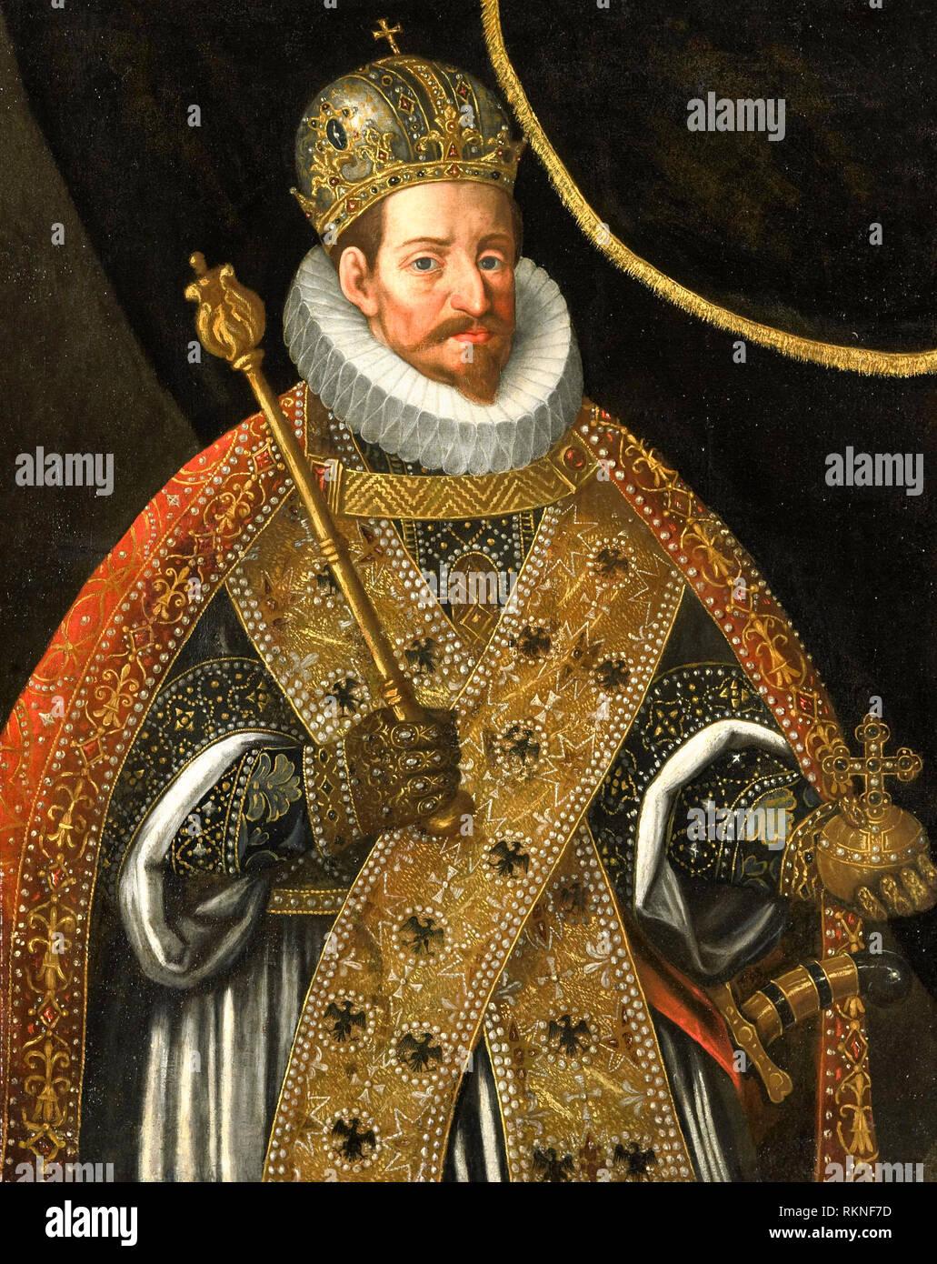 Matthias, Emperor of the Holy Roman Empire (1557-1619) - Hans von Aachen, circa 1610 - Stock Image