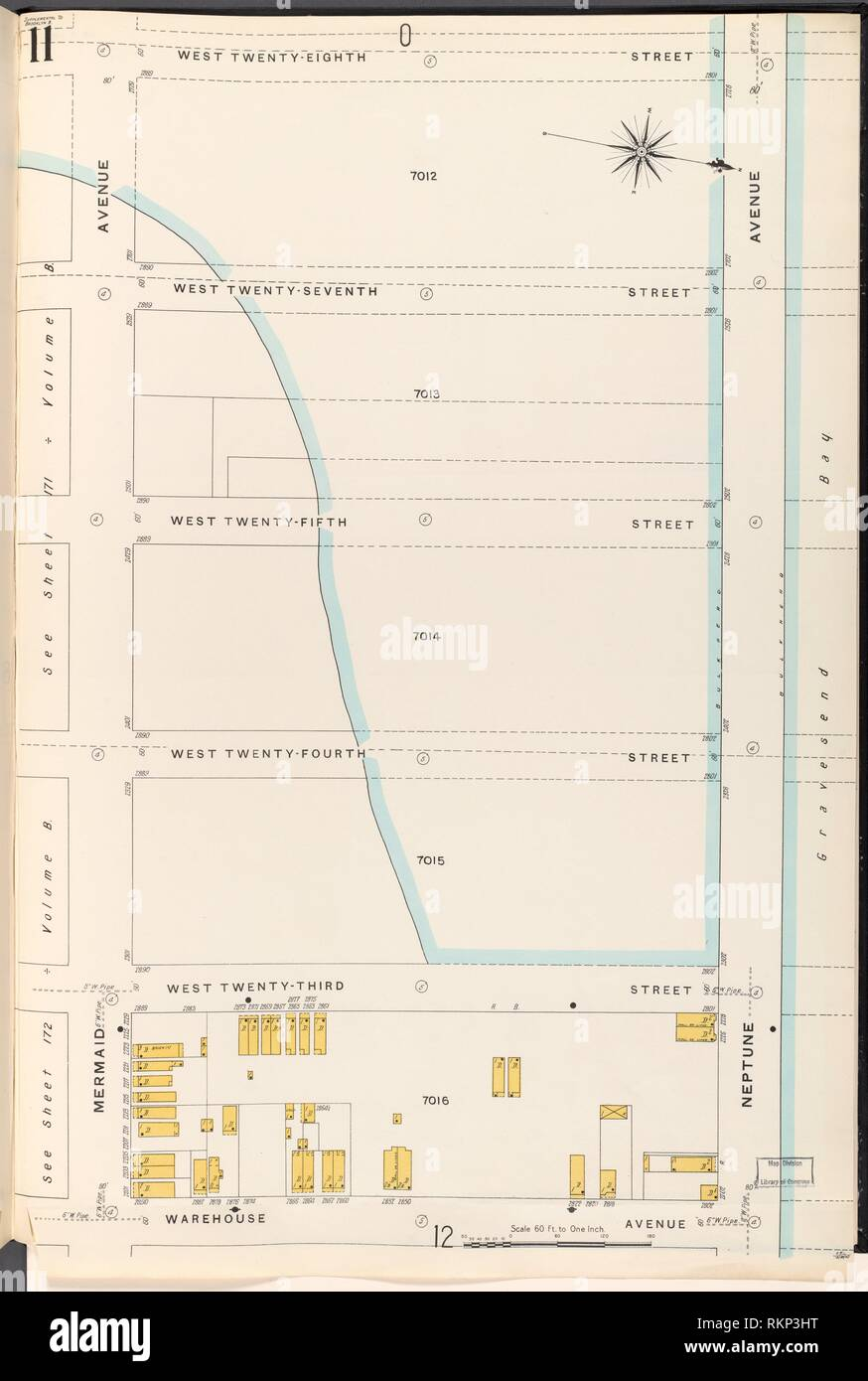 brooklyn vol  b plate no  11 [map bounded by w 28th st
