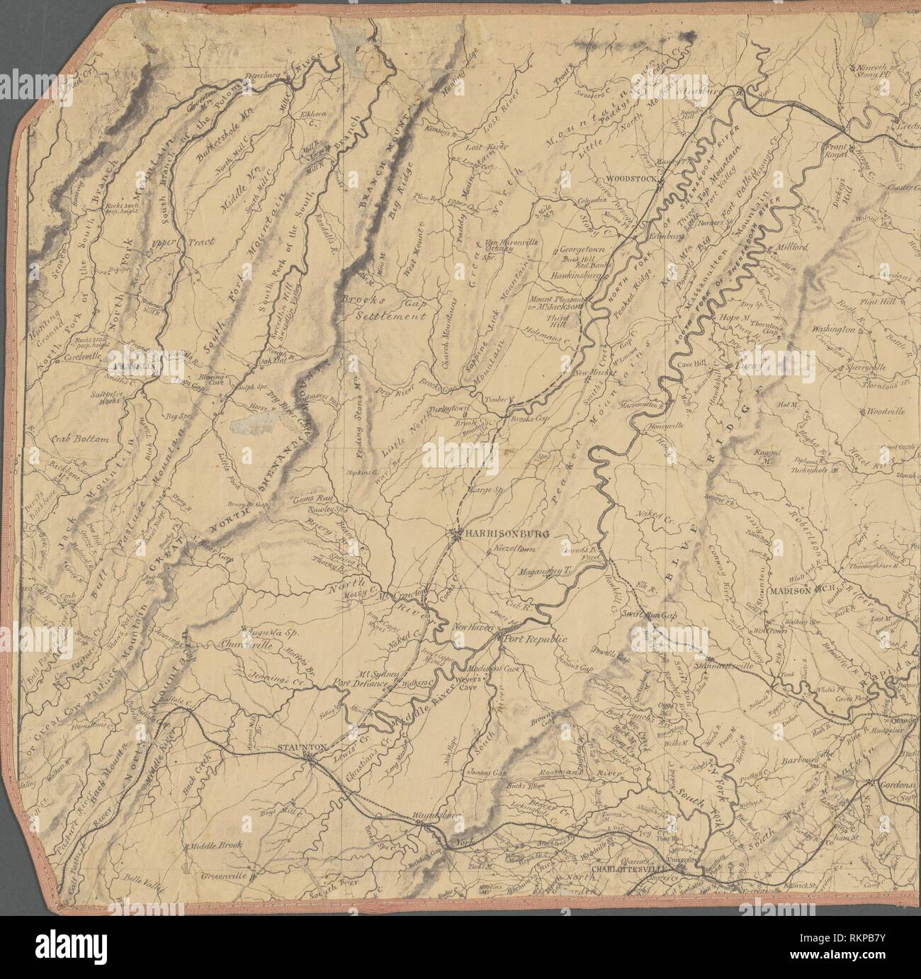 Central Virginia. United States. Topographical Bureau ...