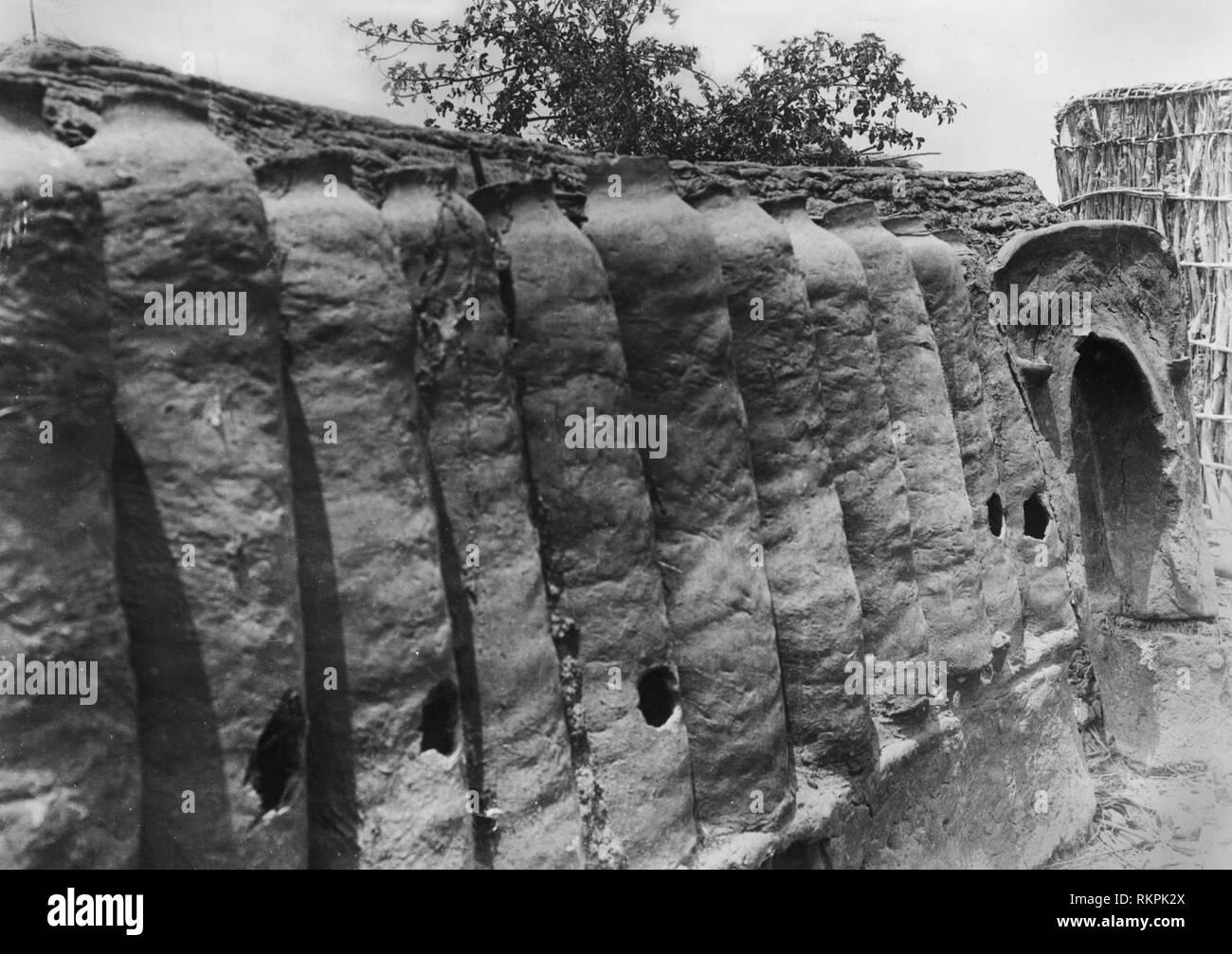 barns, rhodesia, africa 1920 1930 - Stock Image