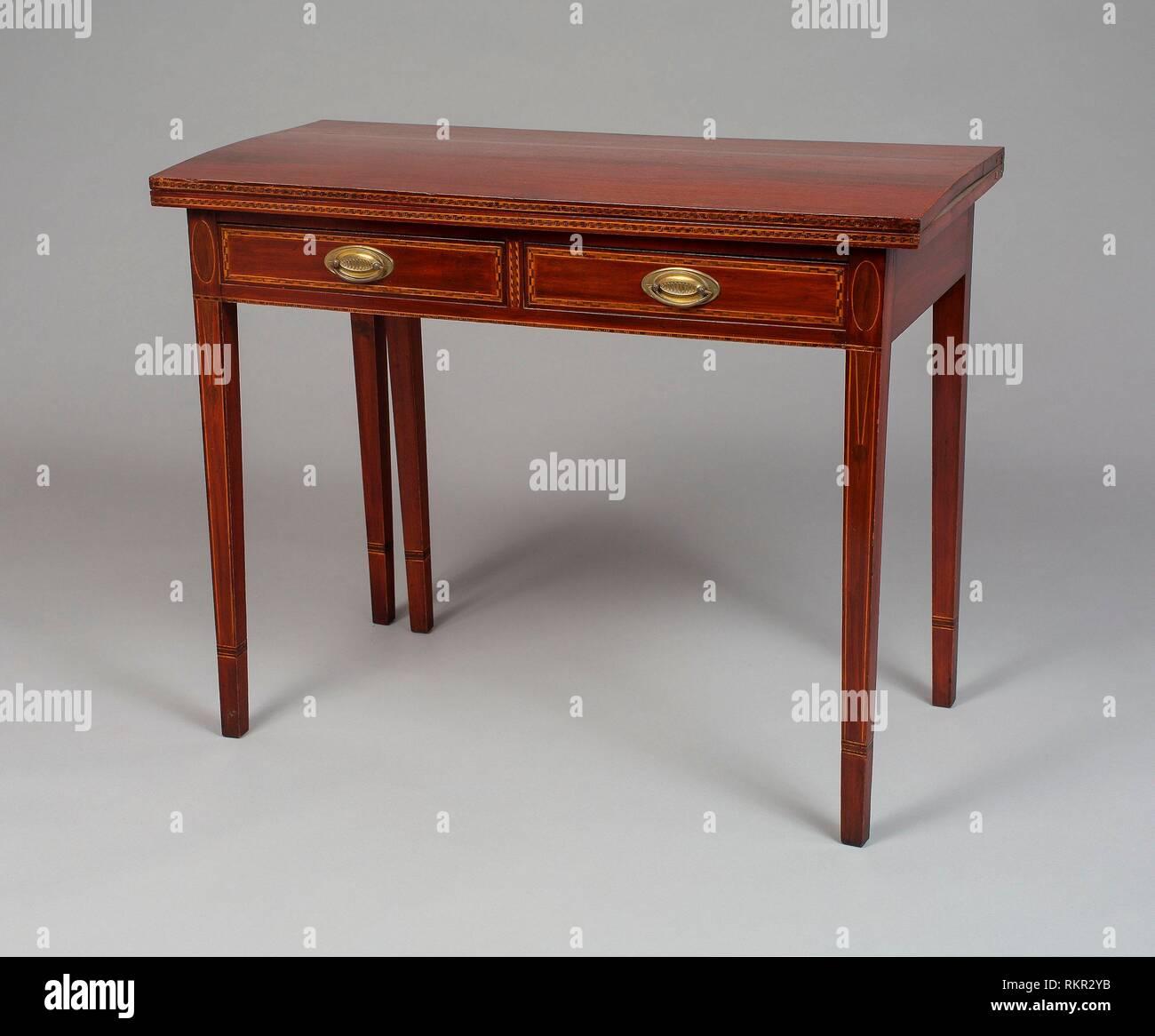 Peachy Card Table 1805 15 American Rutland Vermont Origin Uwap Interior Chair Design Uwaporg
