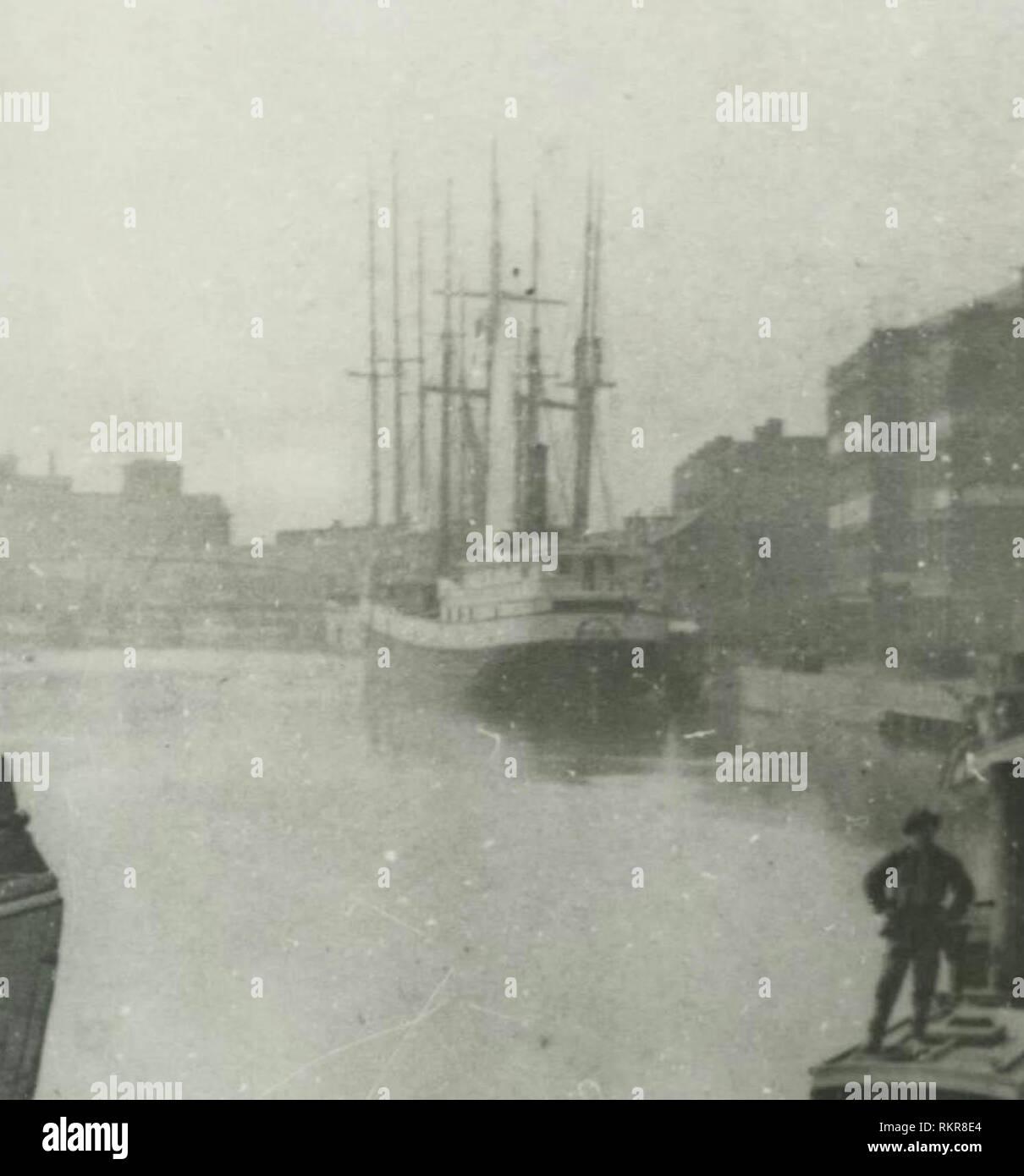 The Selah Chamberlain circa 1875 - Stock Image