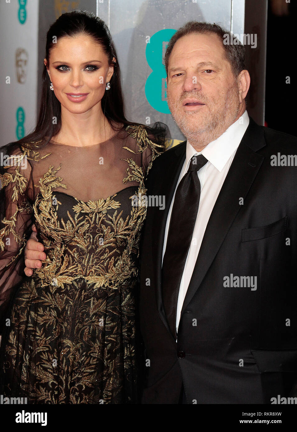Harvey Weinstein Arrives At The 2014 British Academy Film Awards Bafta At The Royal Opera House Coven Garden Stock Photo Alamy