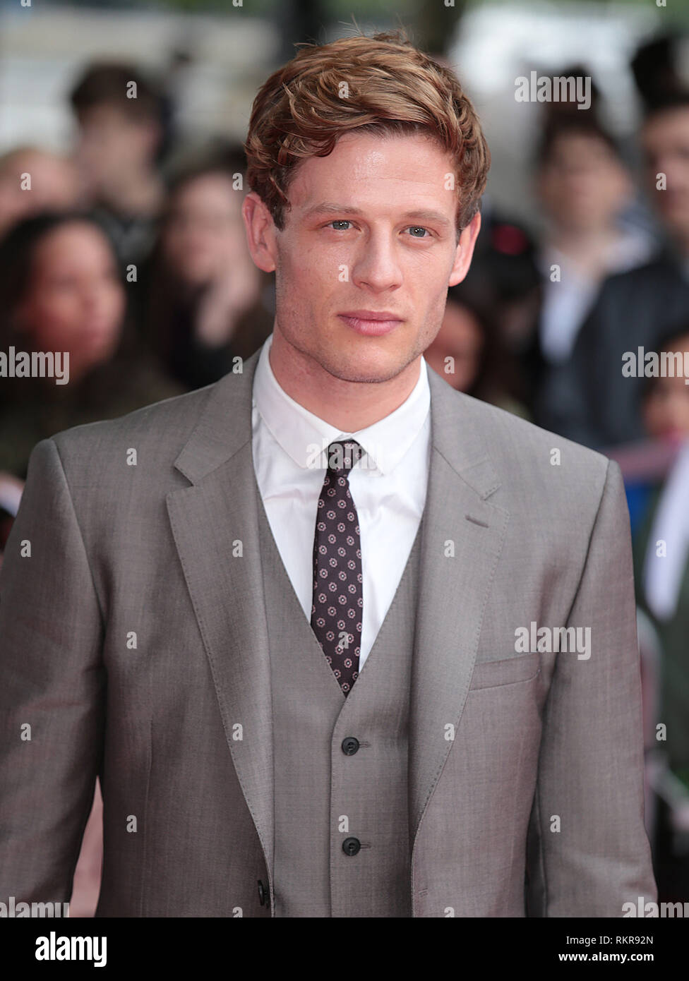 London, UK, 5th June 2014 James Norton attends the 'Belle' UK Premiere at BFI Southbank - Stock Image