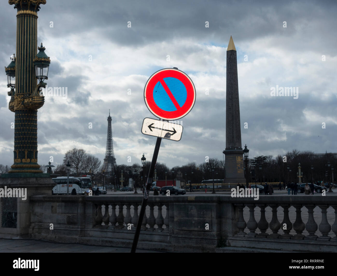 From The Streets of Paris Stock Photo