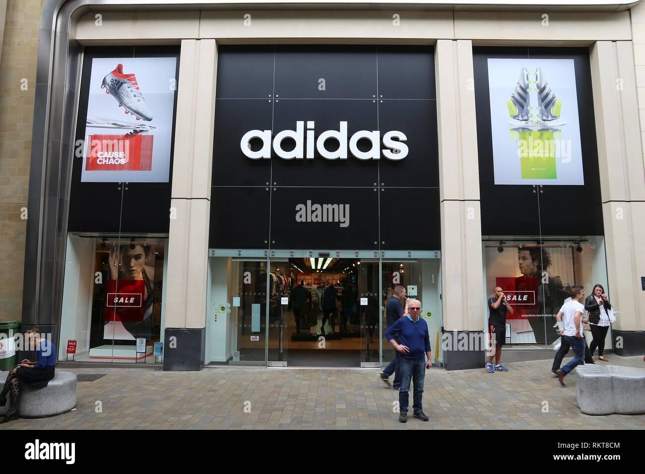 Adidas Shop Uk Stock Photos   Adidas Shop Uk Stock Images - Alamy 0d717c32ca