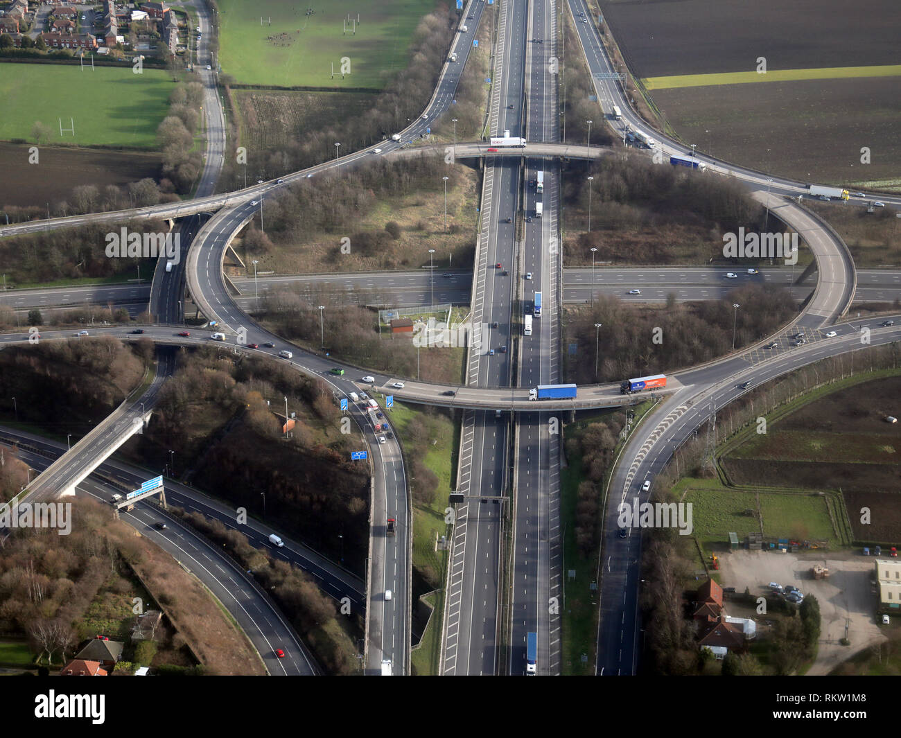 Road Junction Stock Photos & Road Junction Stock Images - Alamy