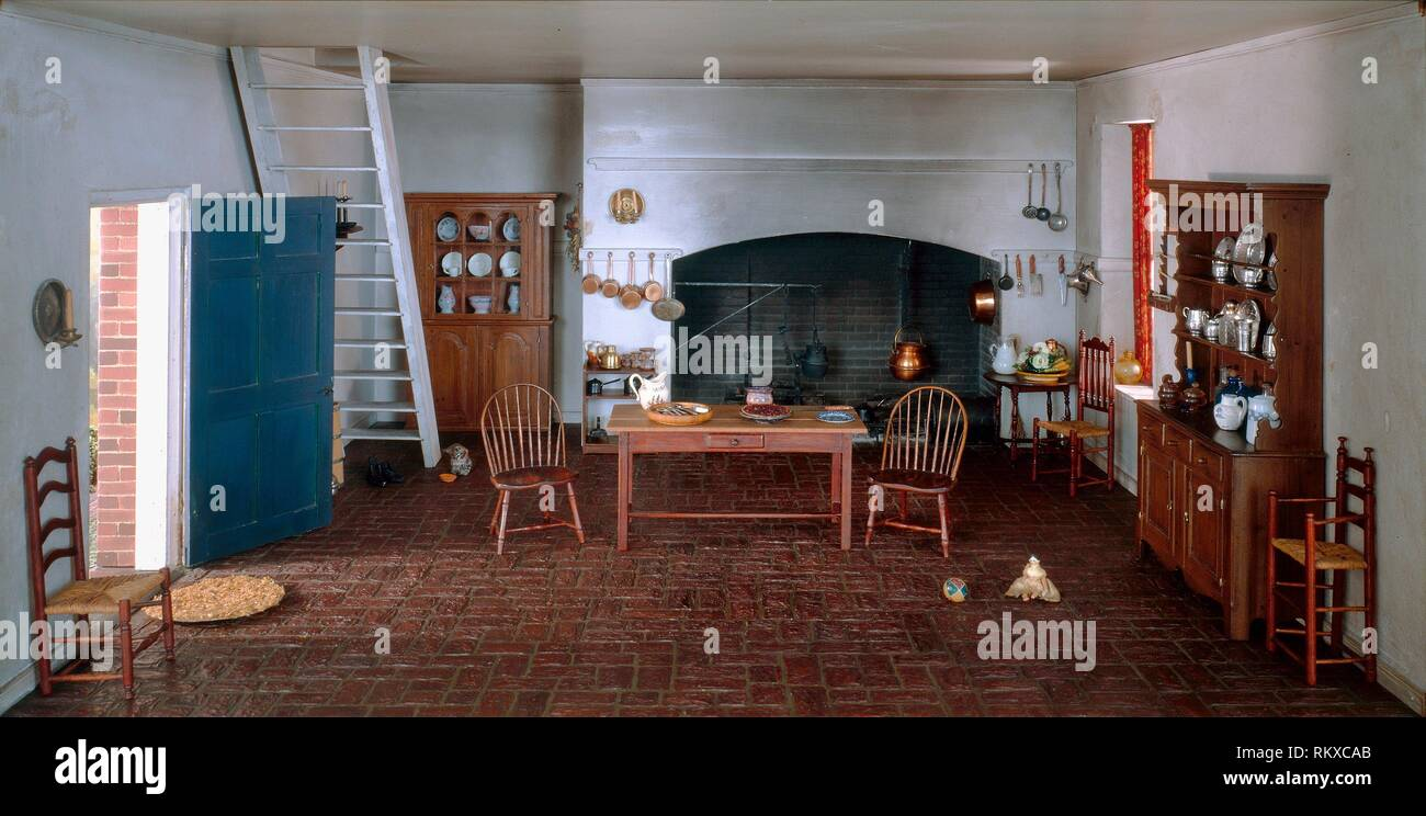 Rooms: 1700s Kitchen Stock Photos & 1700s Kitchen Stock Images