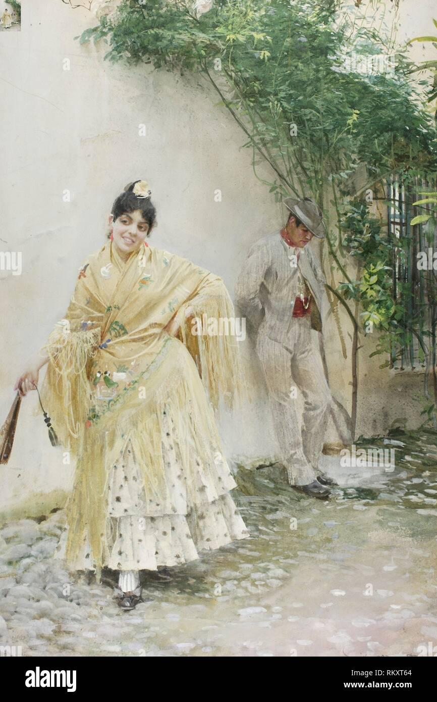 Seville - 1887 - Anders Zorn Swedish, 1860-1920 - Artist: Anders