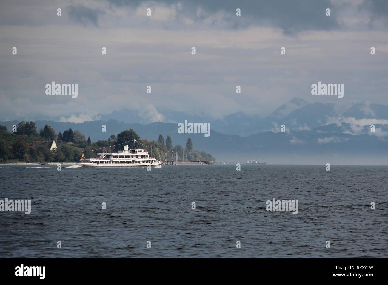 Lake Bodensee (Germany) Stock Photo