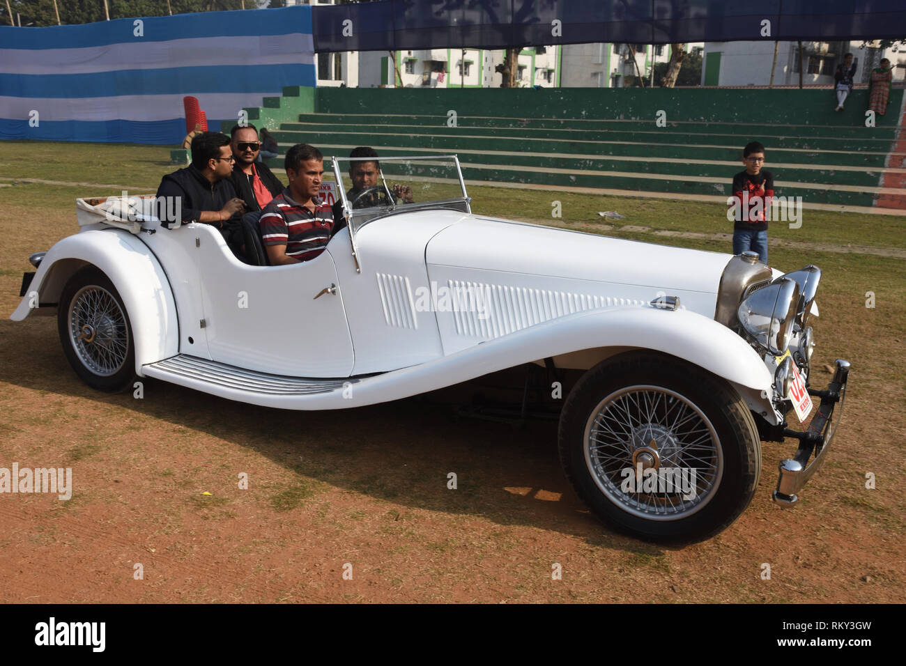 Alvis Car With Hp And Cylinder Engine Wbd India Rky Gw