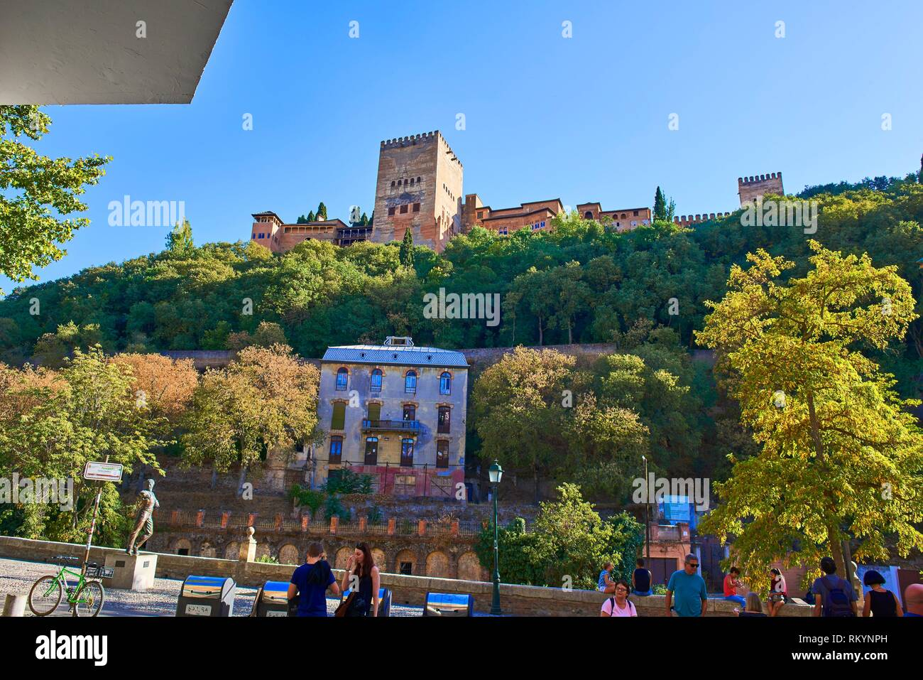 Alhambra, UNESCO World Heritage Site, Granada, Andalusia, Spain. - Stock Image