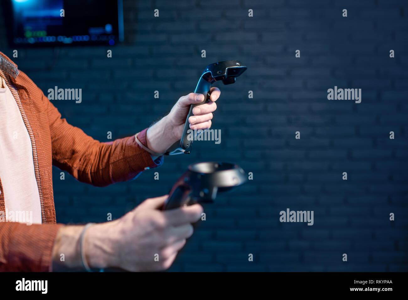 Video Game Vr Shooting Stock Photos & Video Game Vr Shooting