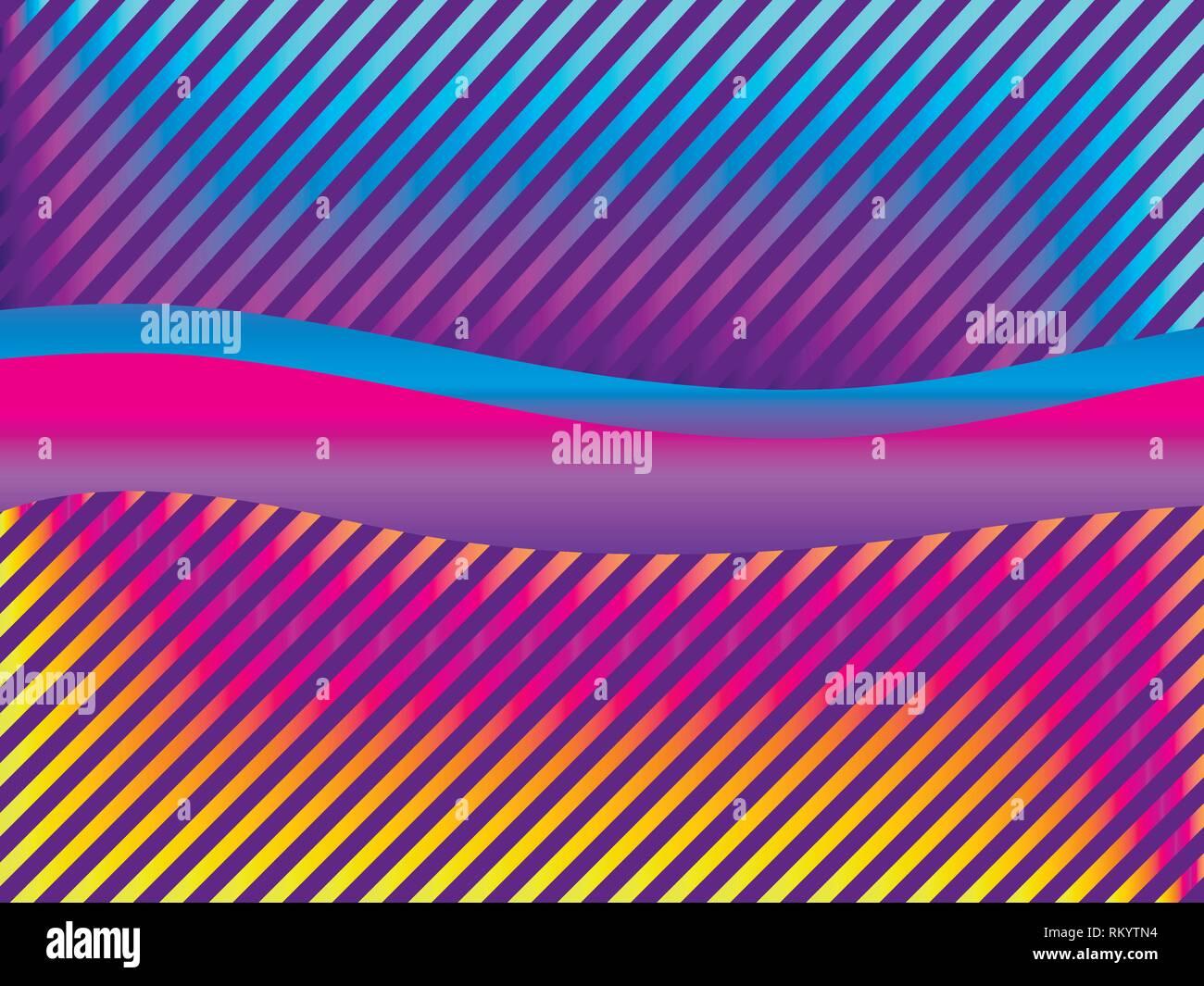 Liquid wave violet color  Modern trend background  Synthwave