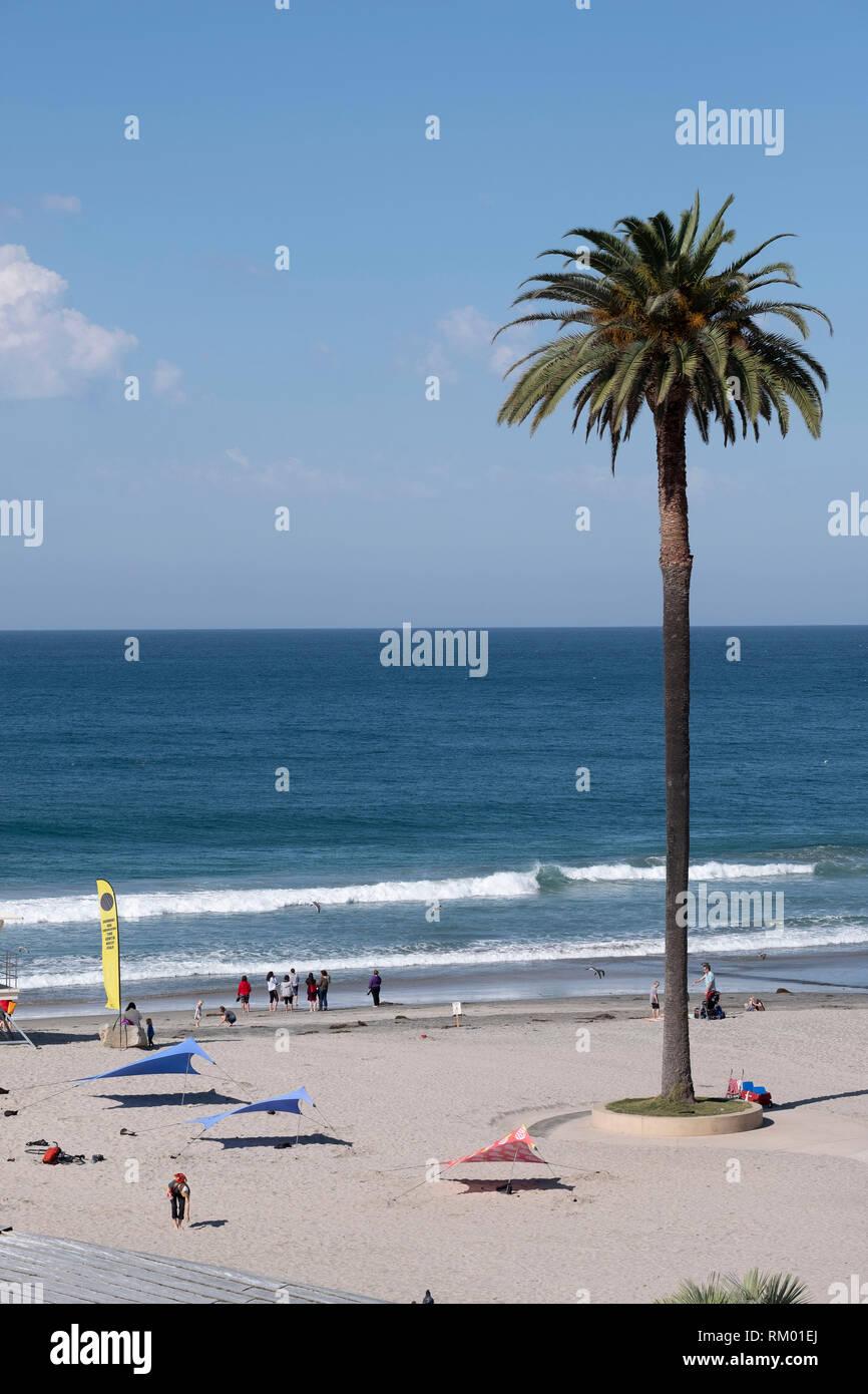Encinitas State Beach Stock Photos & Encinitas State Beach