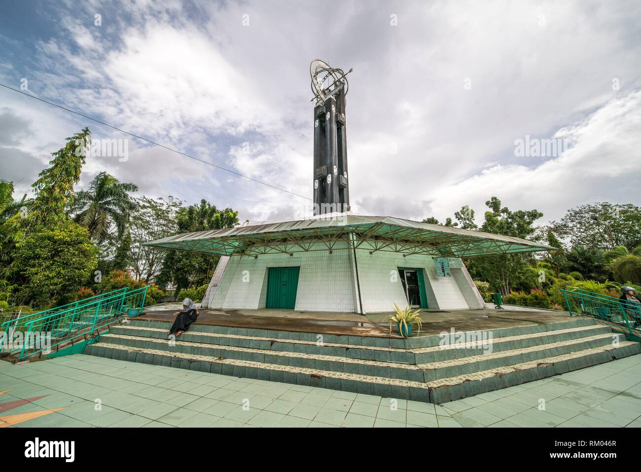 Monument to the Equator, Pontianak, West Kalimantan, Indonesia - Stock Image
