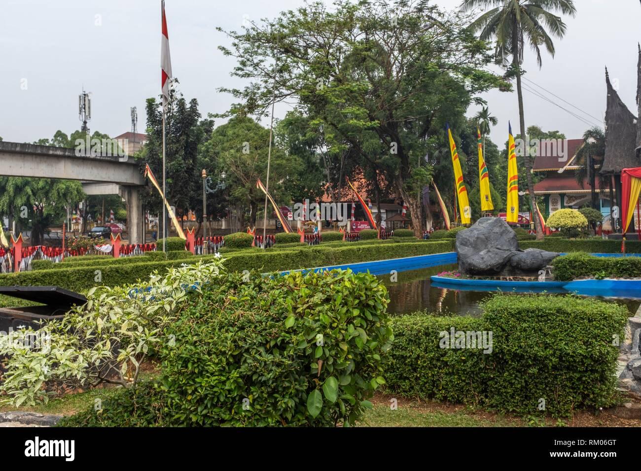 West Sumatra pavilion in Taman Mini Indonesia Indah Park, Jakarta - Stock Image