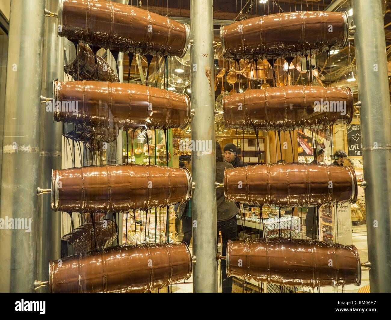 Chocolate Maker. Venice, Italy. - Stock Image