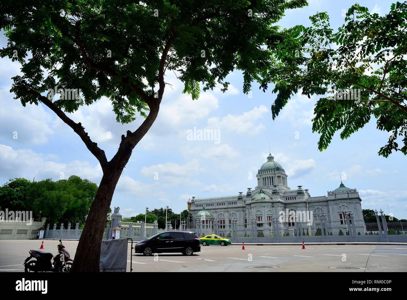 Palace Susan Dusit / Ananda Samakhom, Bangkok, Thailand. Stock Photo