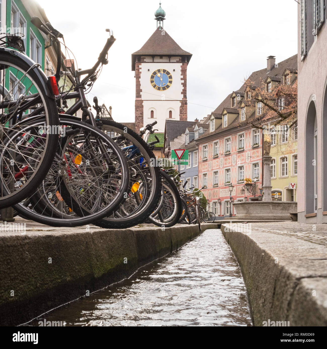 Freiburg im Breisgau, Baden Wurttemberg, Germany - Stock Image