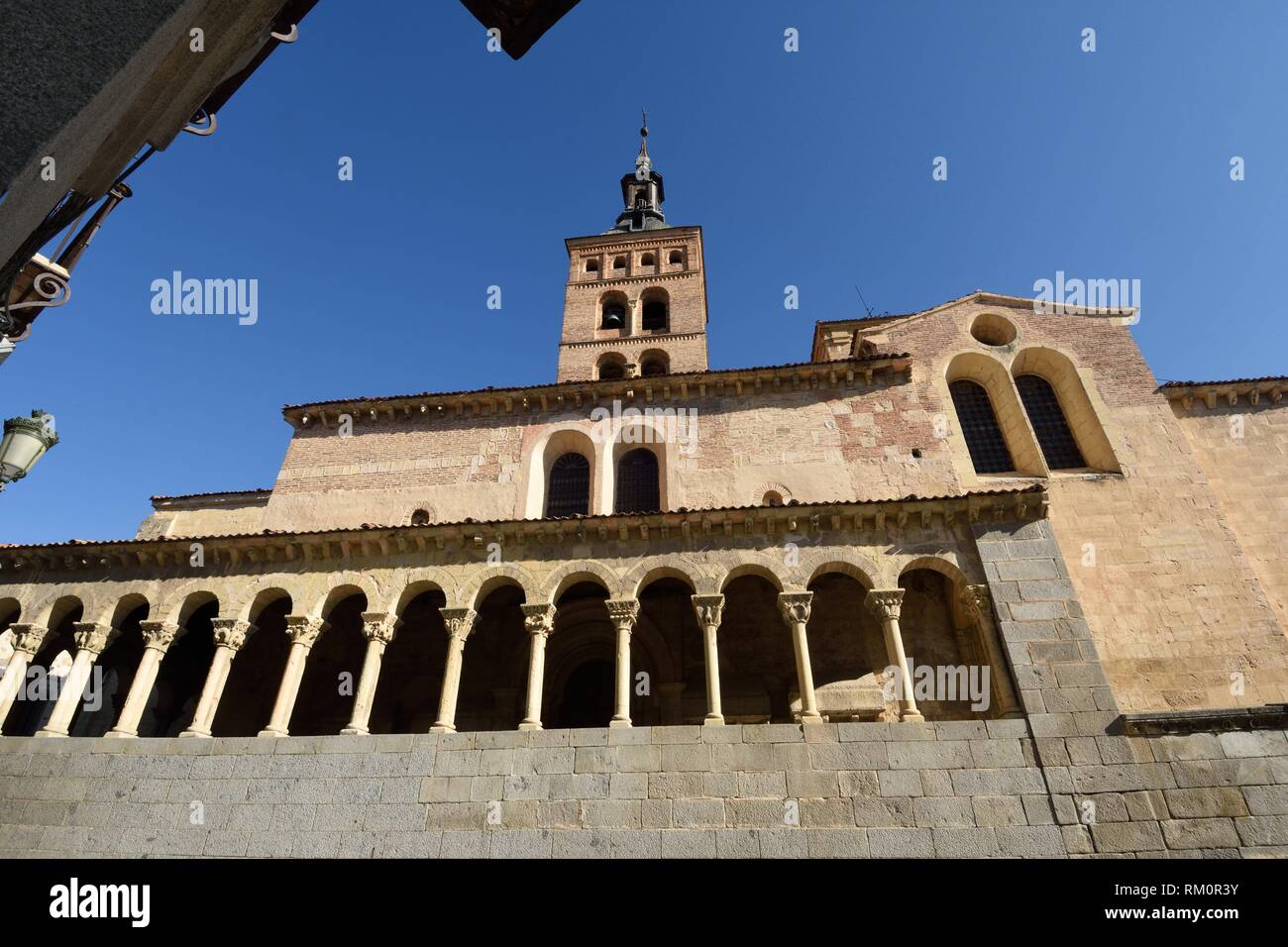 San Martin church, Segovia, Castilla-Leon, Spain. - Stock Image
