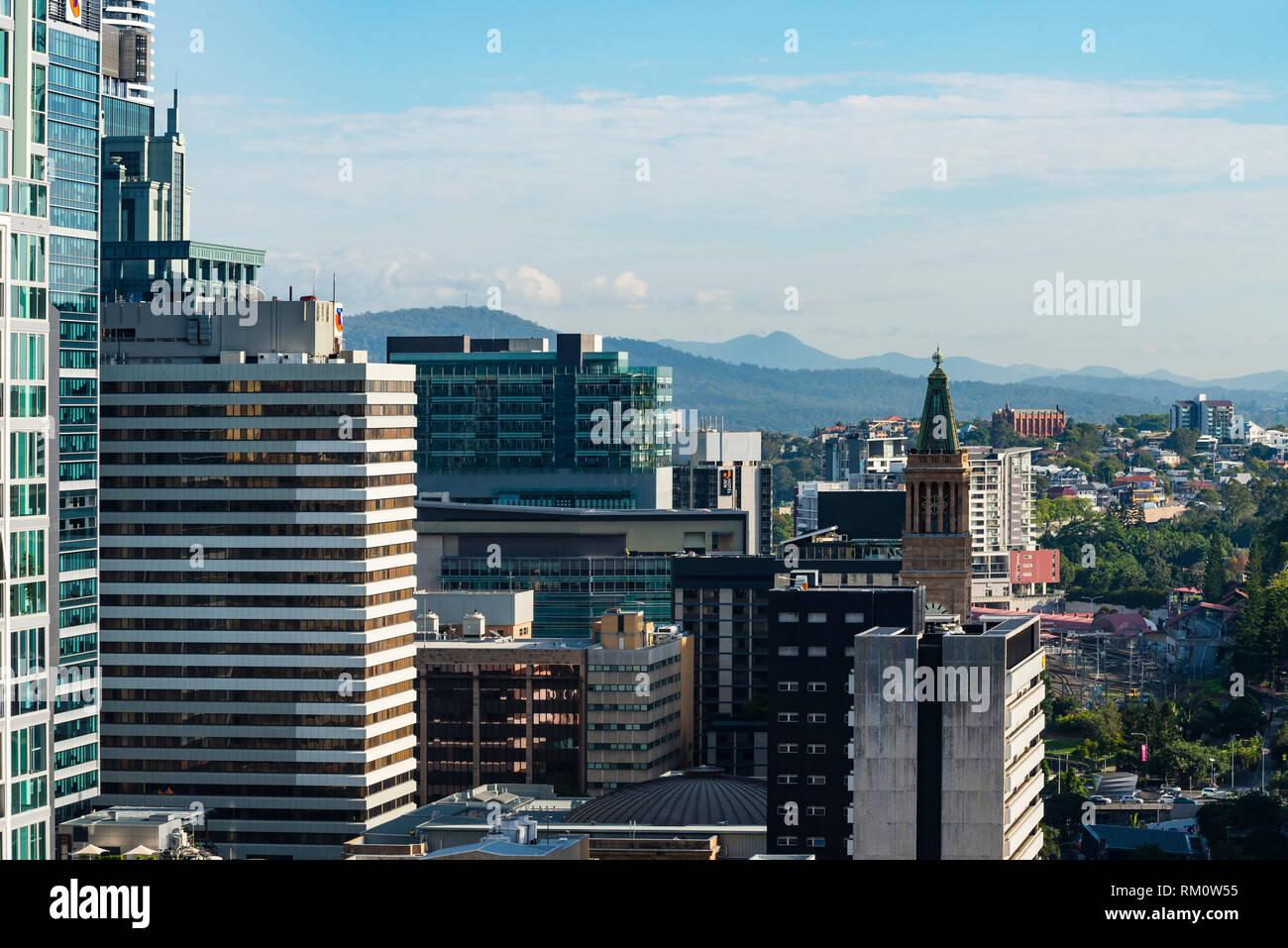 A Brisbane cityscape. - Stock Image