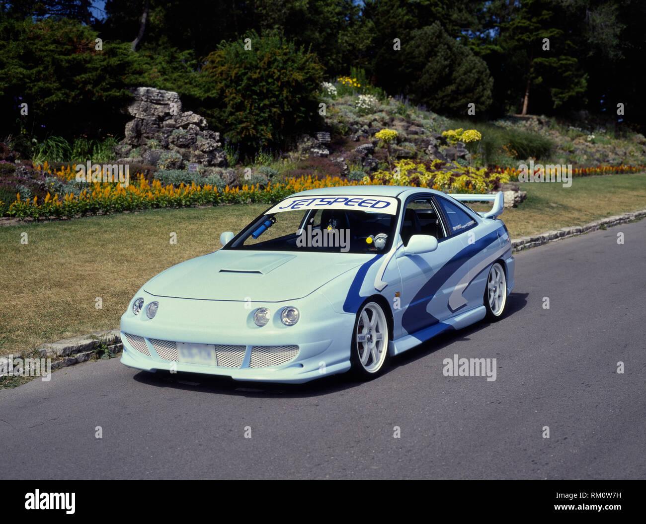 1995 Acura Integra Rs Stock Photo Alamy