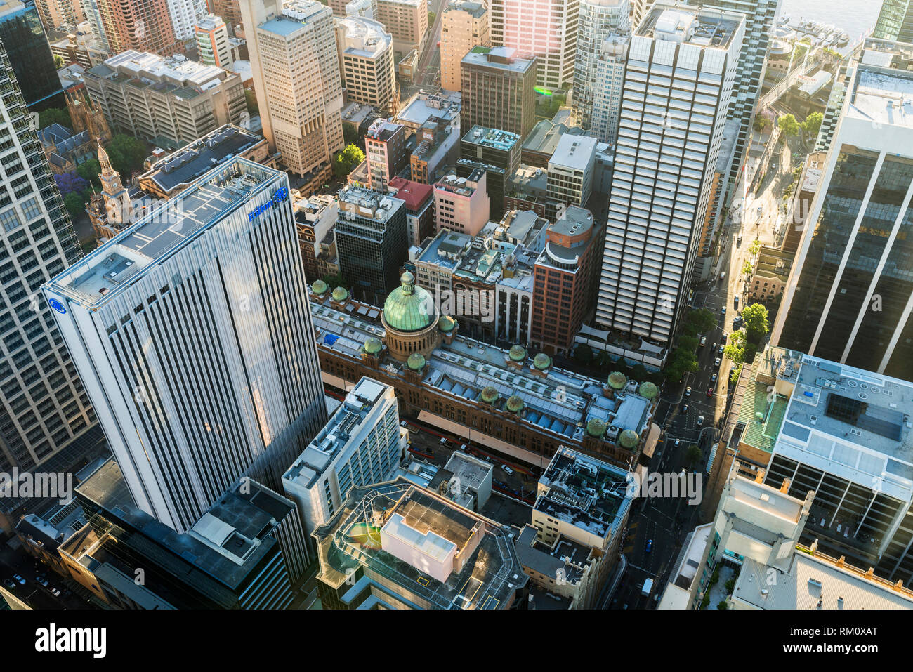 An aerial view of Sydney. Stock Photo