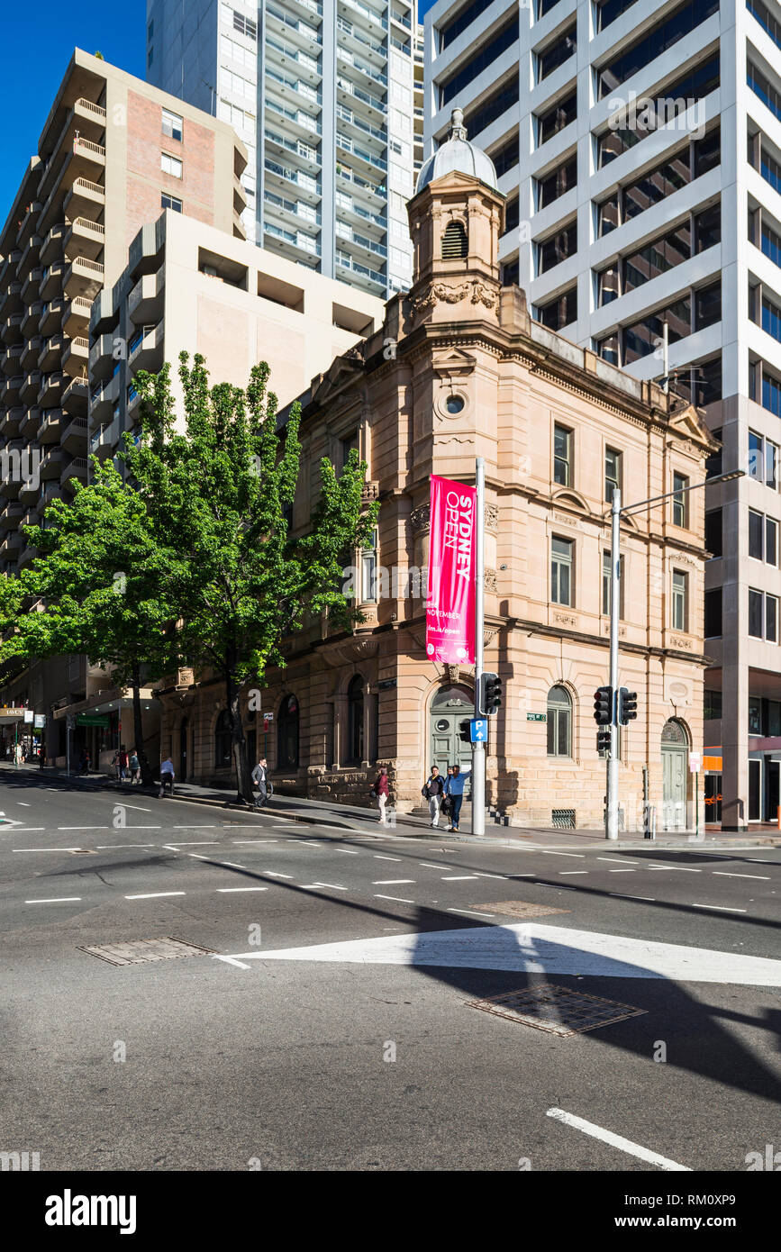 A Sydney street scene. Stock Photo
