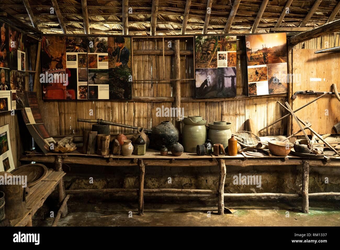 Hmong's Hilltribe Museum, Doi Pui, Chiang Mai, Thailand - Stock Image