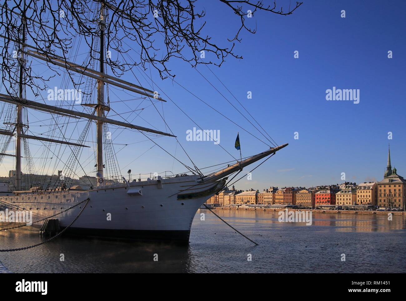 Stockholm in winter af Chapman Stock Photo