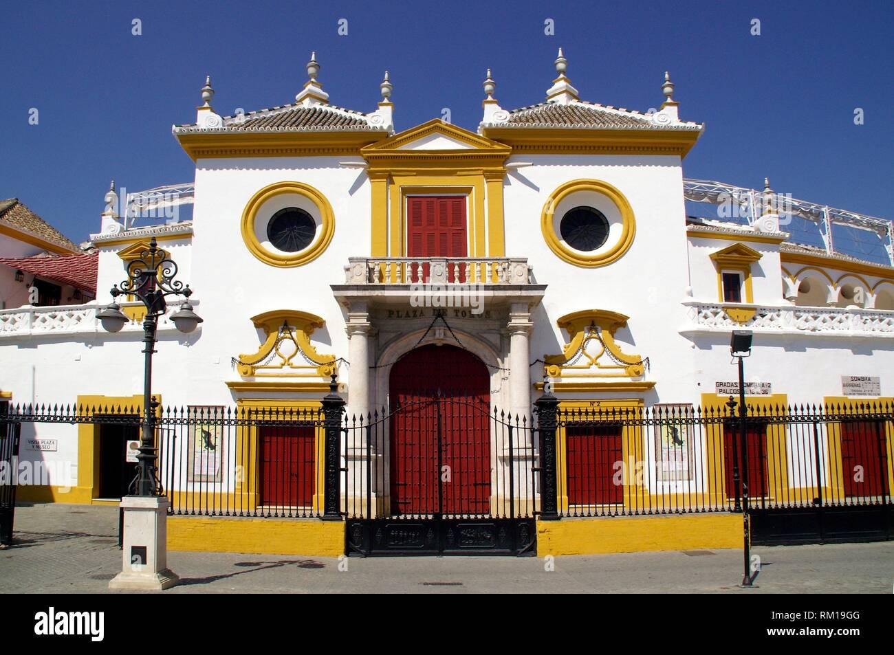 Sevilla (Spain). Real Maestranza de Caballería de Sevilla. - Stock Image