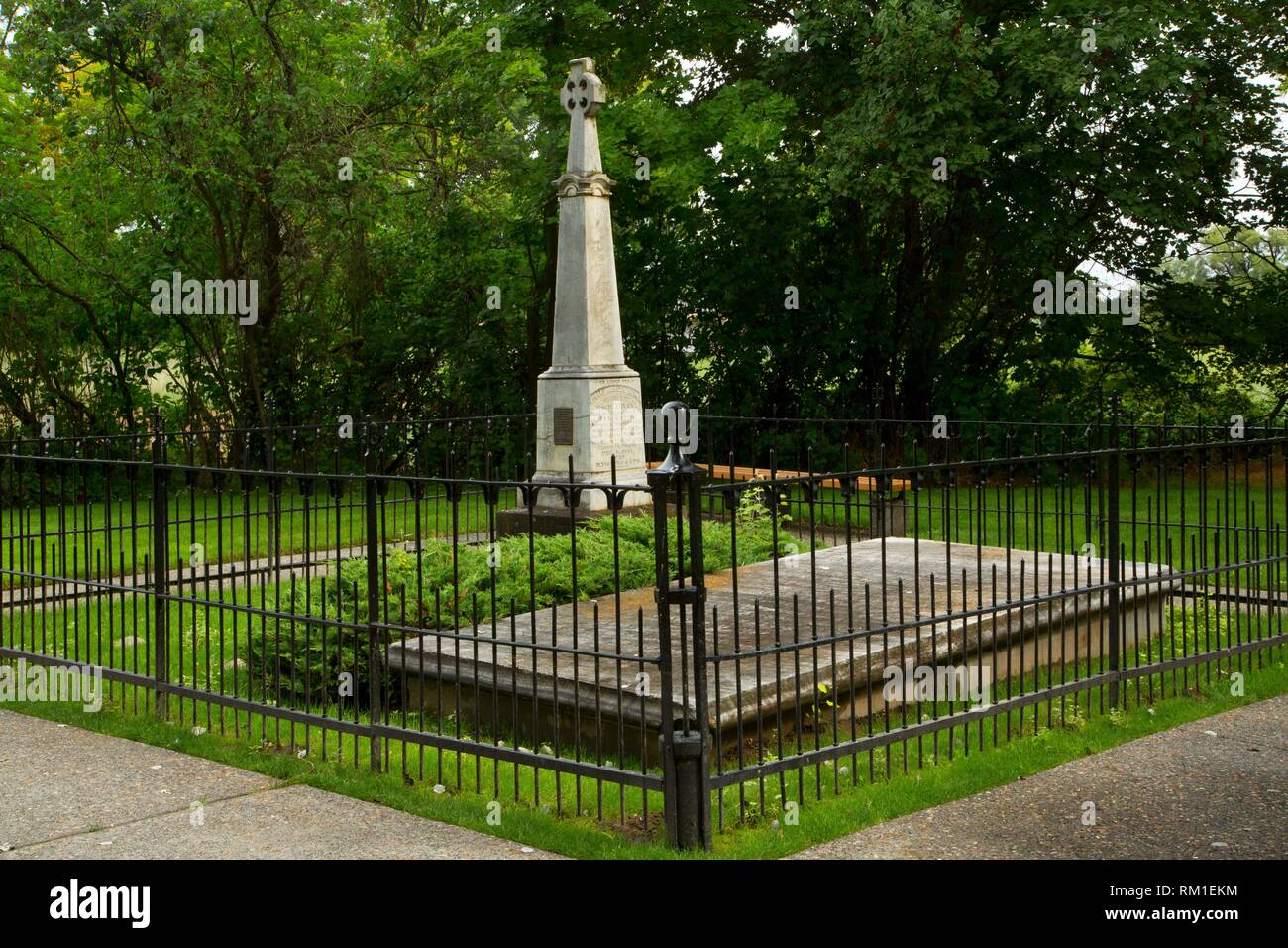 Great Grave, Whitman Mission National Historic Site, Washington. - Stock Image