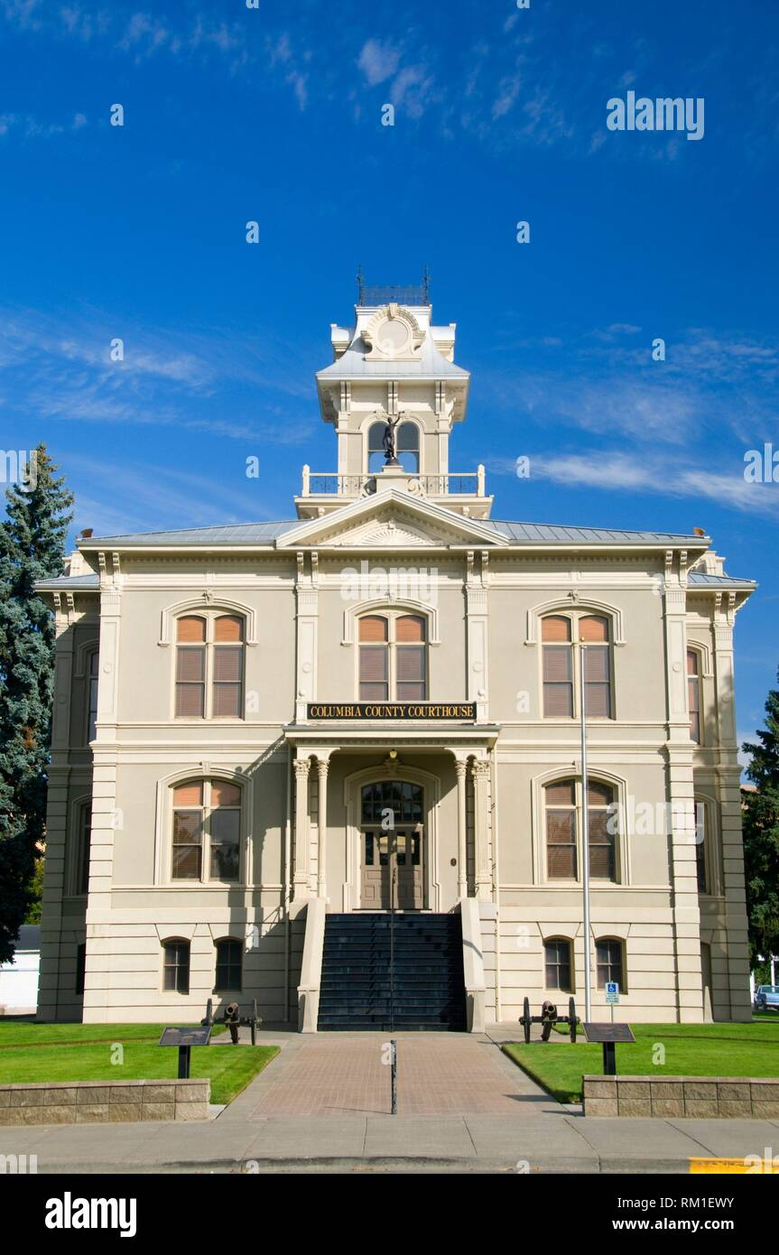 Columbia County Courthouse, Columbia County, Washington. - Stock Image