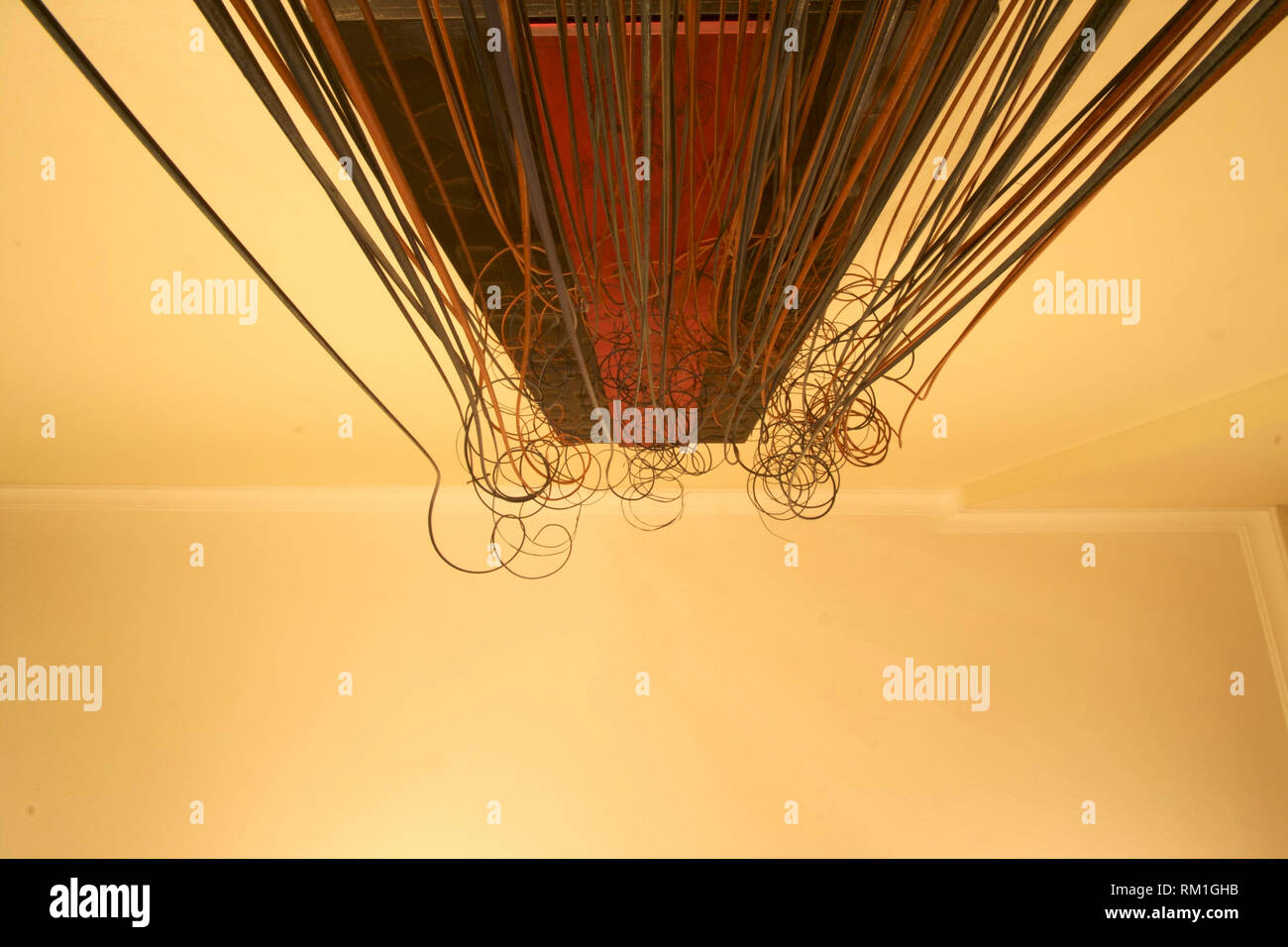 Dubai-Artpiece interior decoration 5 - Stock Image