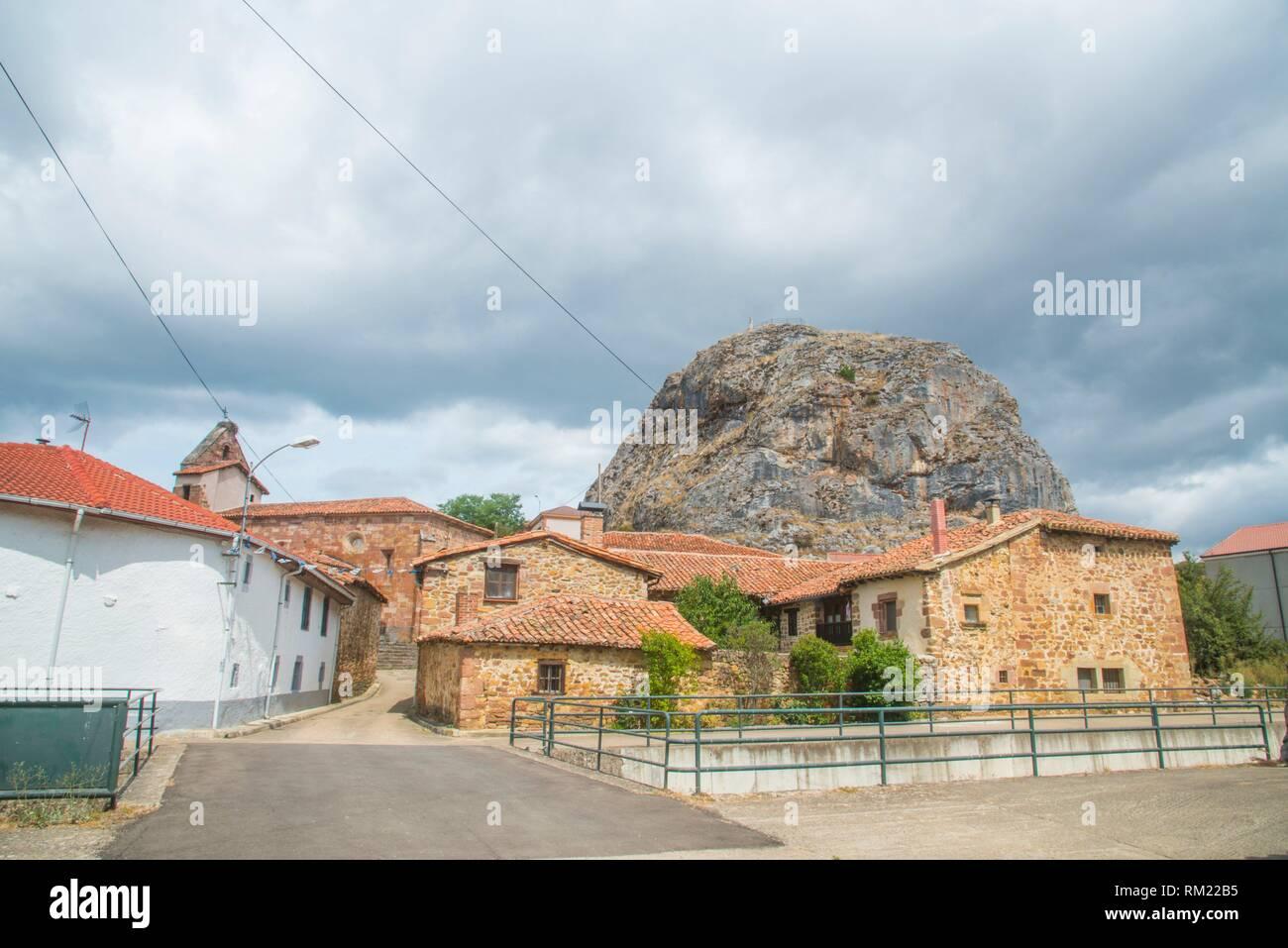 Muda, Palencia province, Castilla Leon, Spain. - Stock Image