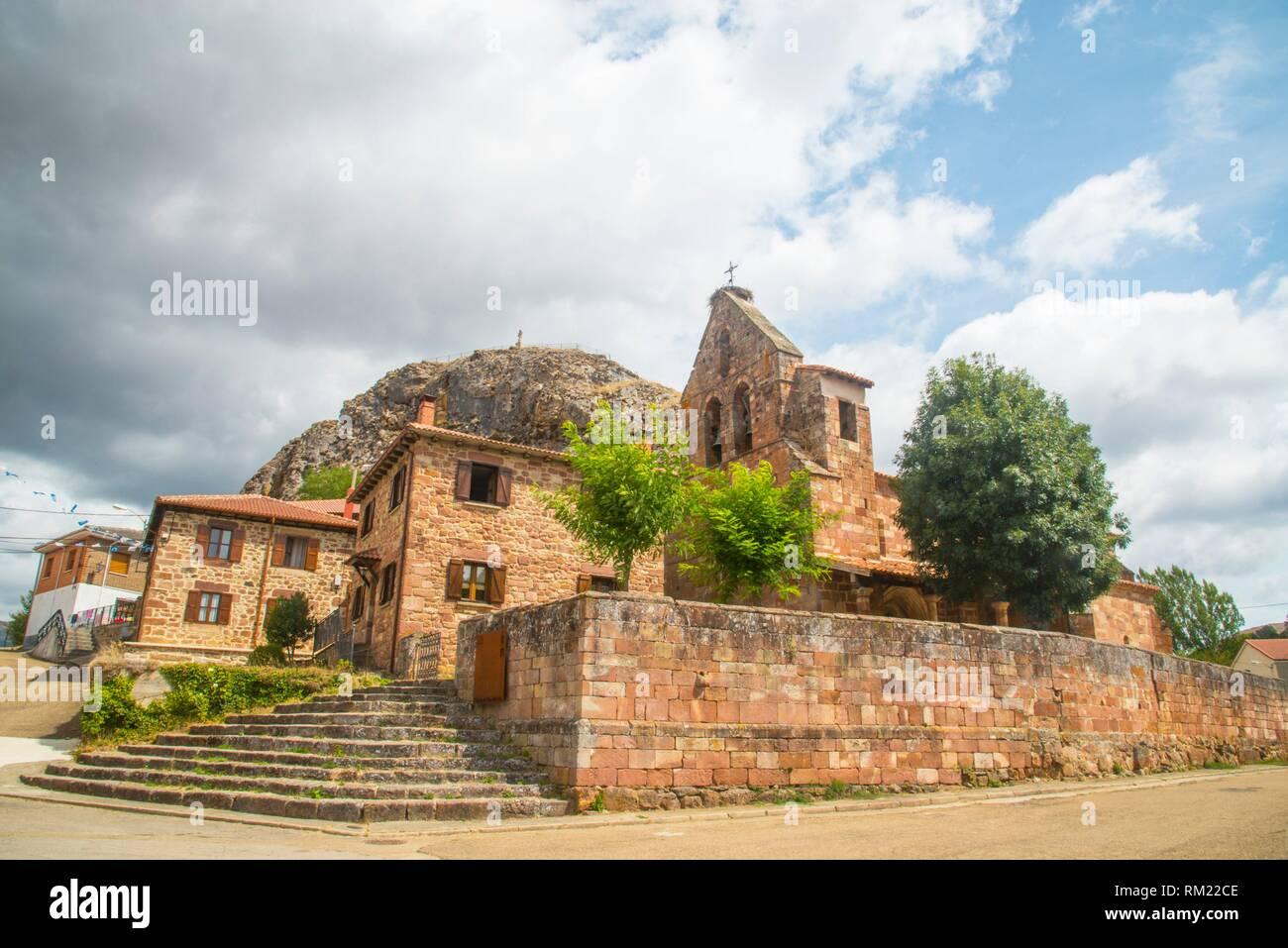 Muda. Palencia province, Castilla Leon, Spain. - Stock Image