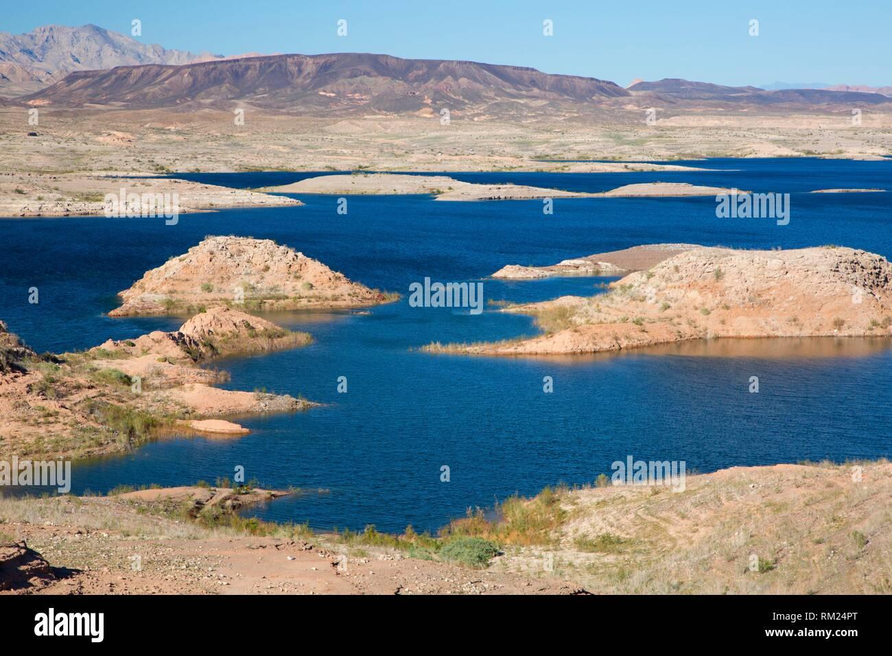 Lake Mead, Lake Mead National Recreation Area, Nevada. Stock Photo