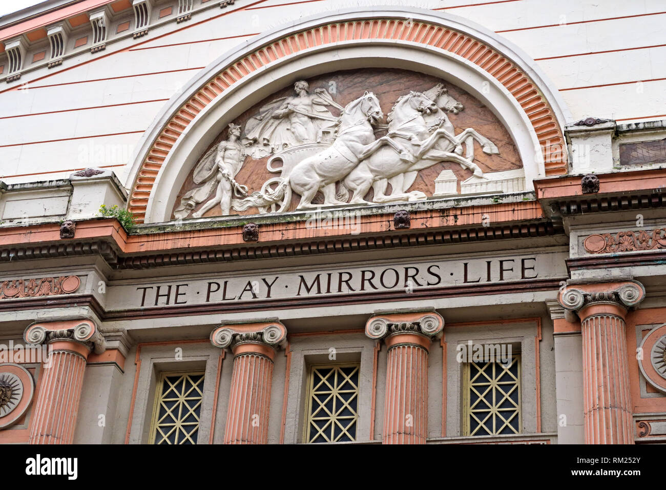Manchester Opera House, Entrance & Box Office, 3 Quay St, Manchester, North West England, UK,  M3 3HP - Stock Image