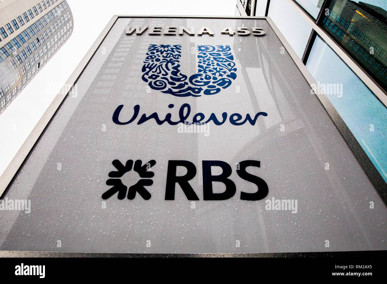 ROTTERDAM - Unilever's head office will be in Rotterdam, the company's board of directors announced on Thursday. - Stock Image