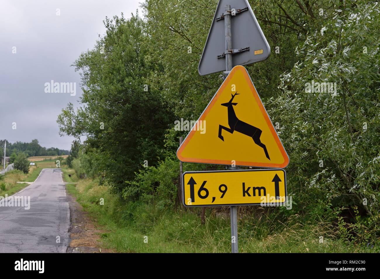 Malopolska Province (Lesser Poland), Poland, Central Europe. - Stock Image