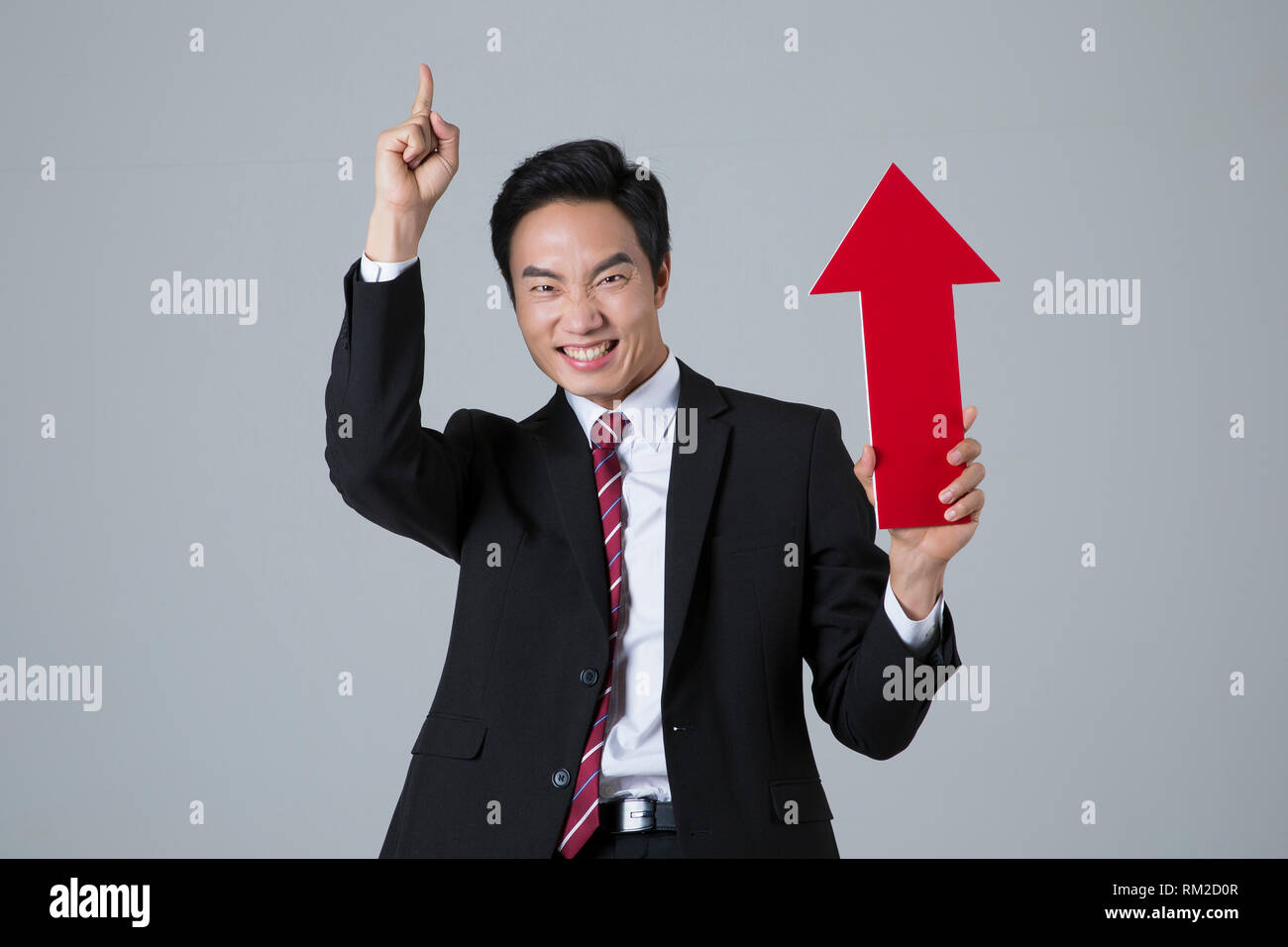Young businessman concept photo. 132 - Stock Image