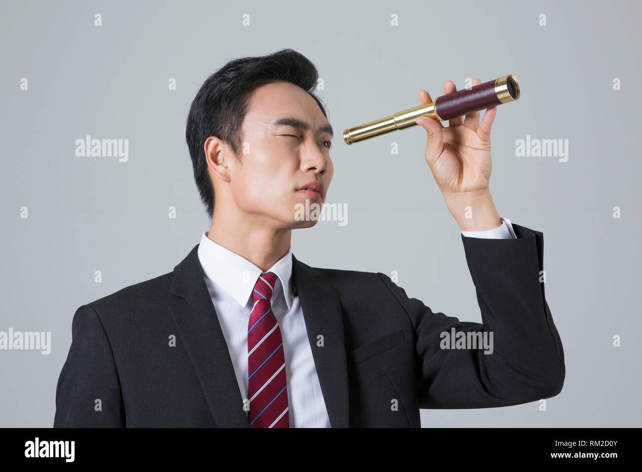Young businessman concept photo. 131 - Stock Image