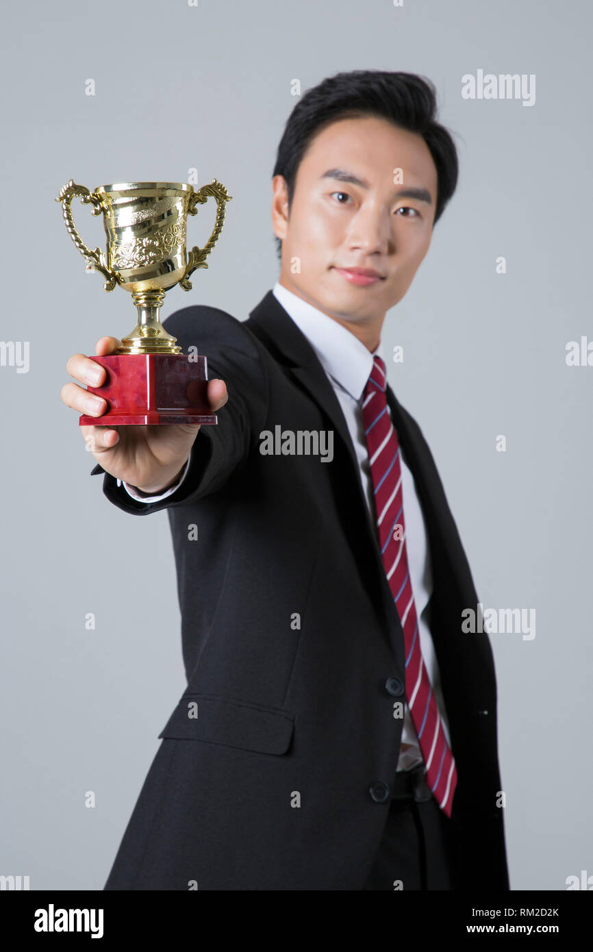 Young businessman concept photo. 122 - Stock Image